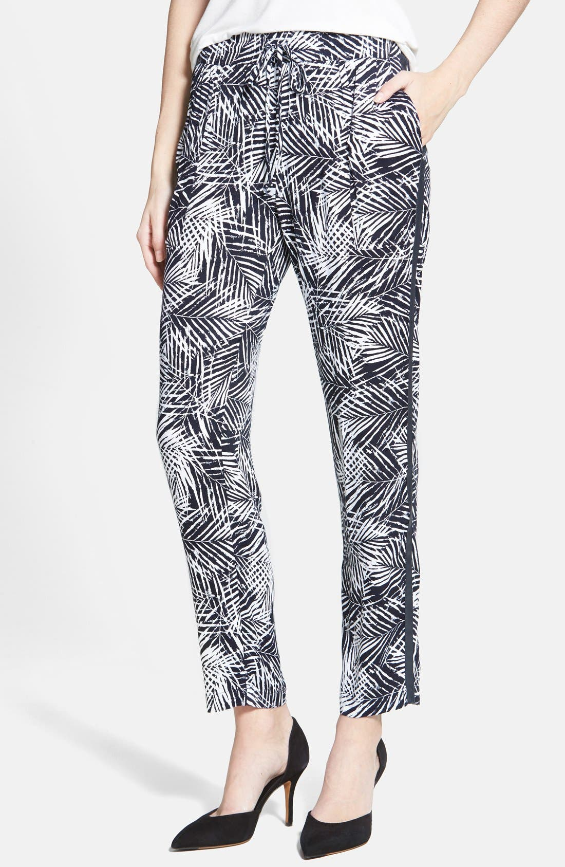 Alternate Image 1 Selected - Bailey 44 'Palm Tree' Drawstring Pants