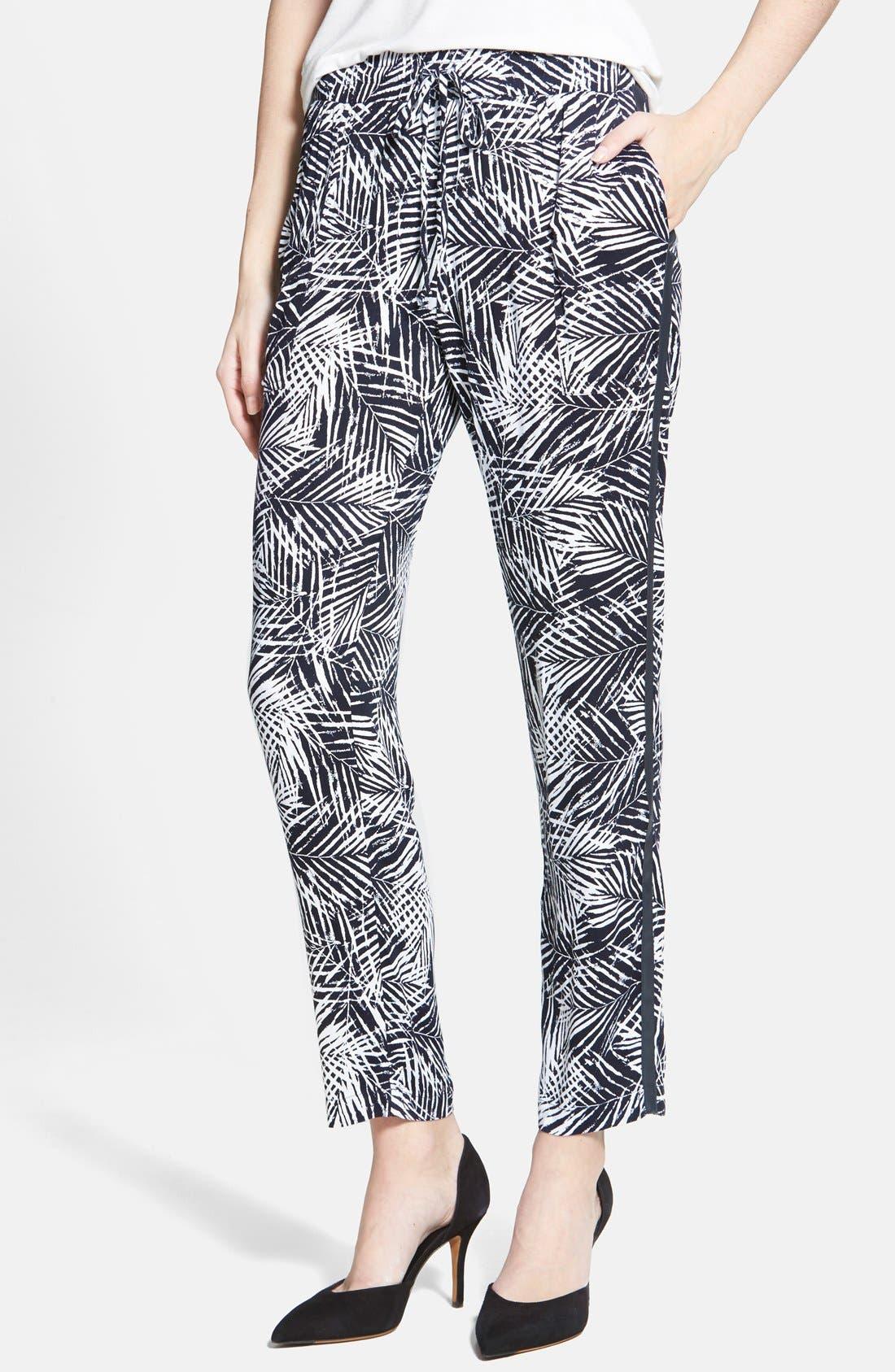 Main Image - Bailey 44 'Palm Tree' Drawstring Pants