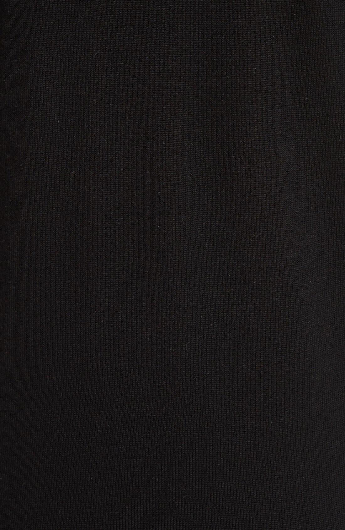 Alternate Image 3  - Burberry Alewater Elbow Patch Merino Wool Dress
