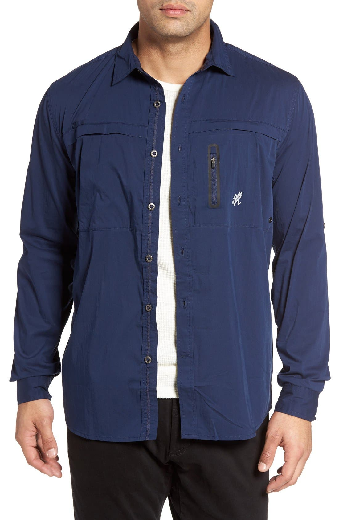 Alternate Image 1 Selected - Gramicci NO-Squito Regular Fit Travel Shirt