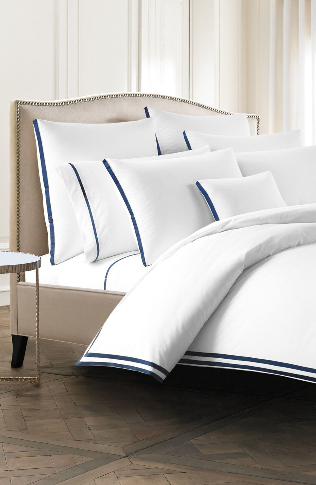 Torino Pillowcases,                             Alternate thumbnail 2, color,                             Navy