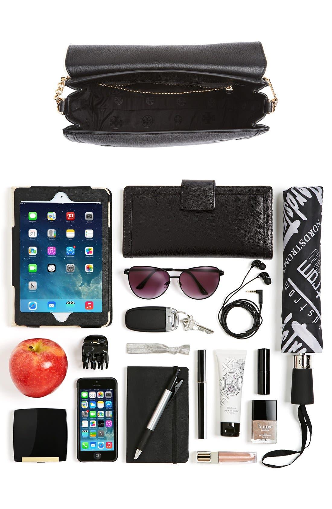 Alternate Image 7  - Tory Burch Large Duet Leather Shoulder Bag