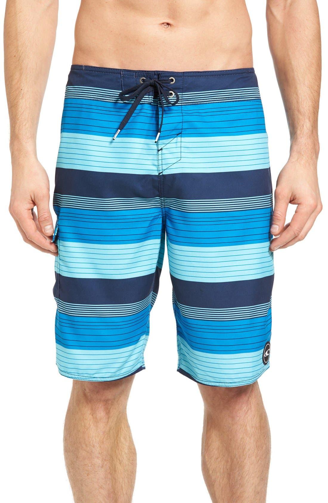 O'Neill Santa Cruz Stripe Board Shorts
