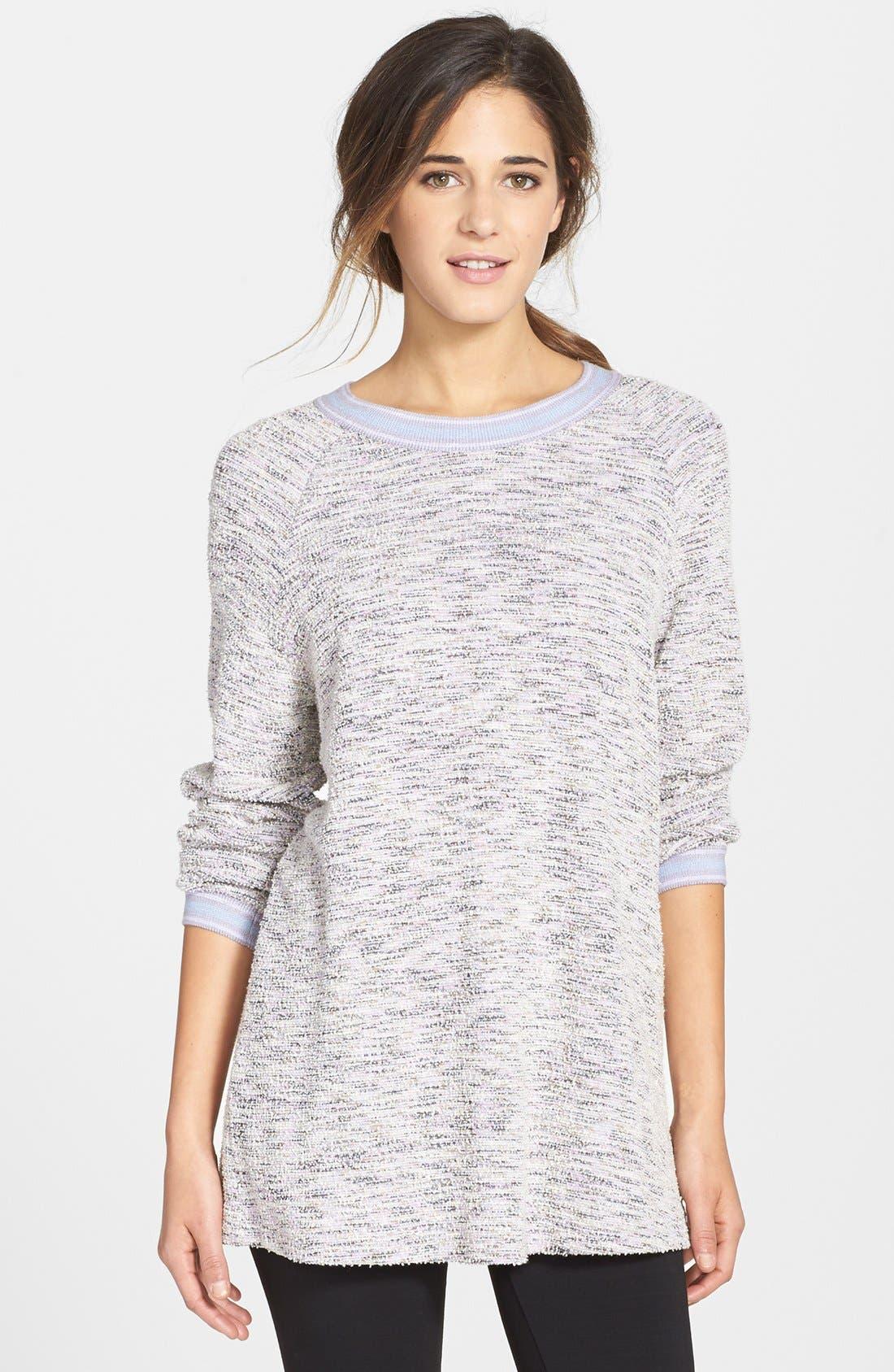 Main Image - Only Hearts Oversize Bouclé Knit Sweatshirt
