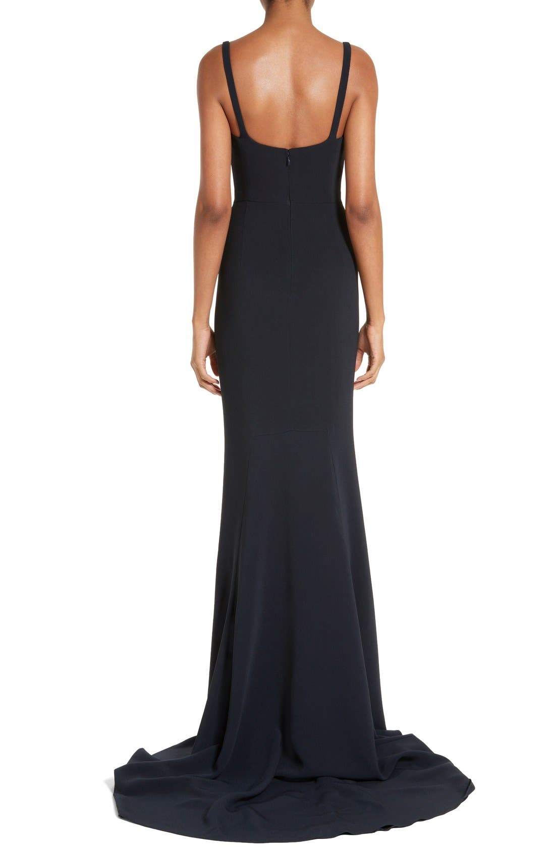 Alternate Image 2  - Stella McCartney Sweetheart Neckline Gown