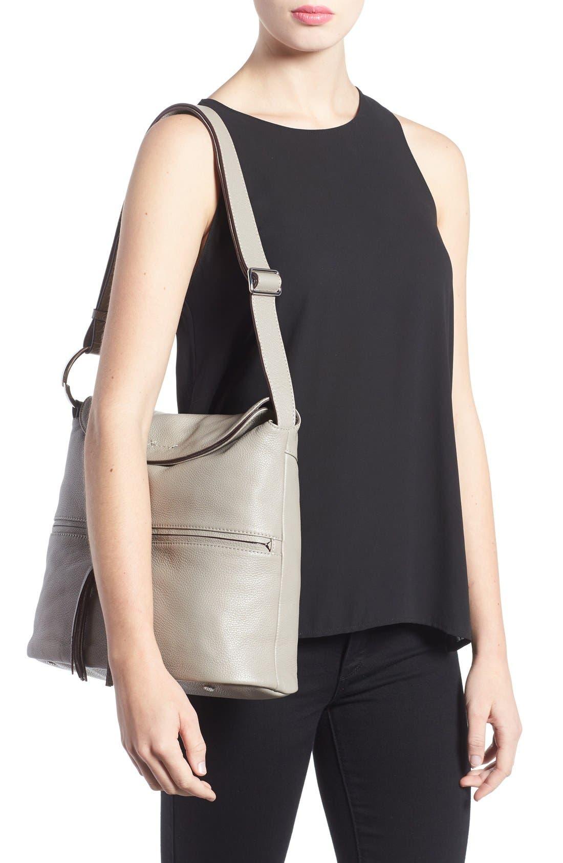 Alternate Image 2  - Elizabeth and James Finley Leather Hobo Bag