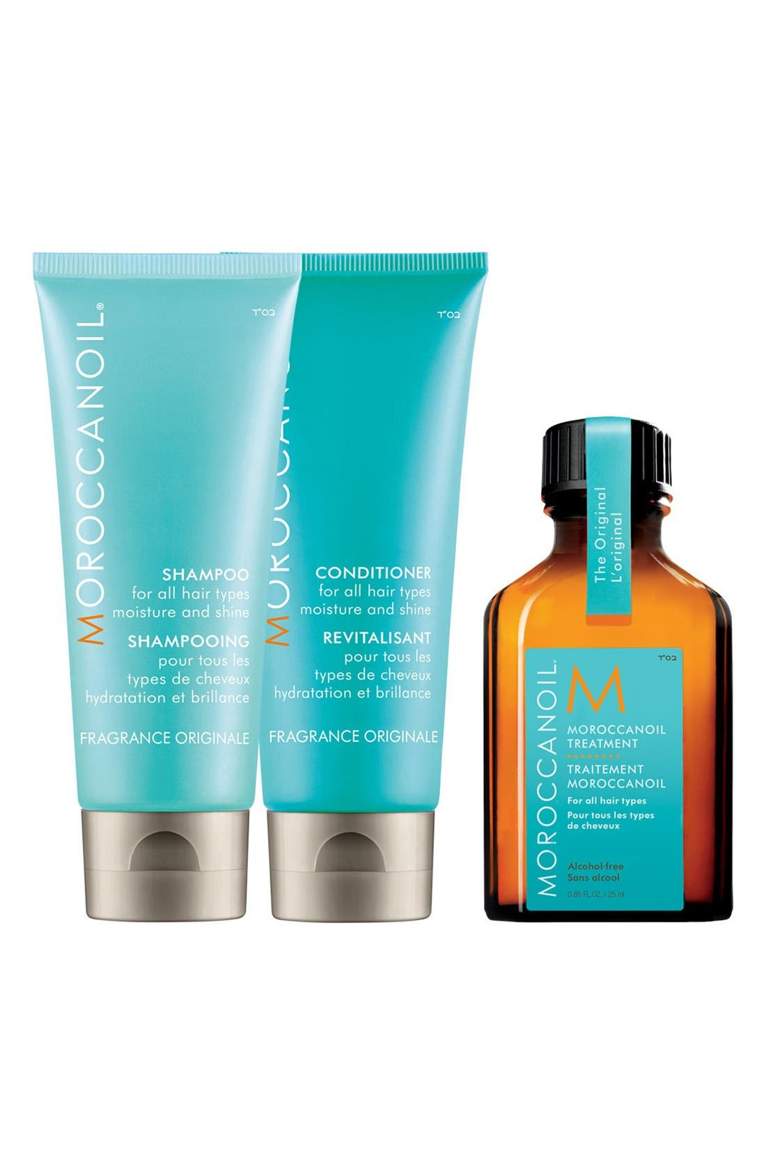 MOROCCANOIL Moisture & Shine Travel Kit ($37 Value)