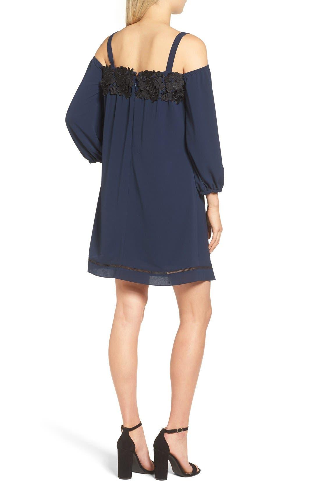 Alternate Image 3  - Chelsea28 Cold Shoulder Dress