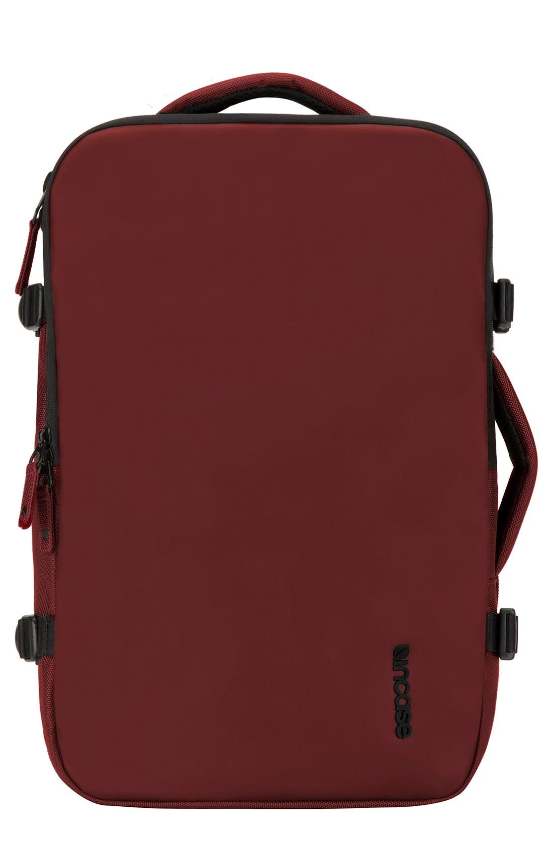 VIA Backpack,                         Main,                         color, Deep Red