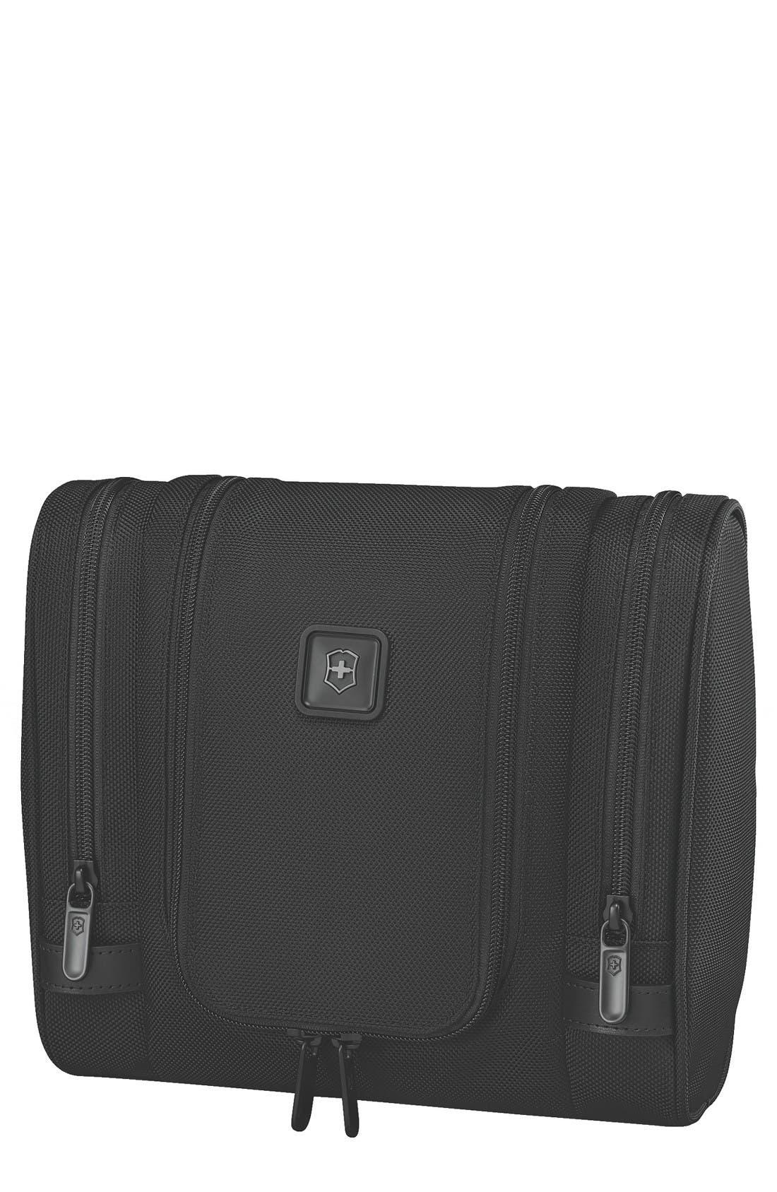 Lexicon 2.0 Hanging Travel Kit,                             Main thumbnail 1, color,                             Black