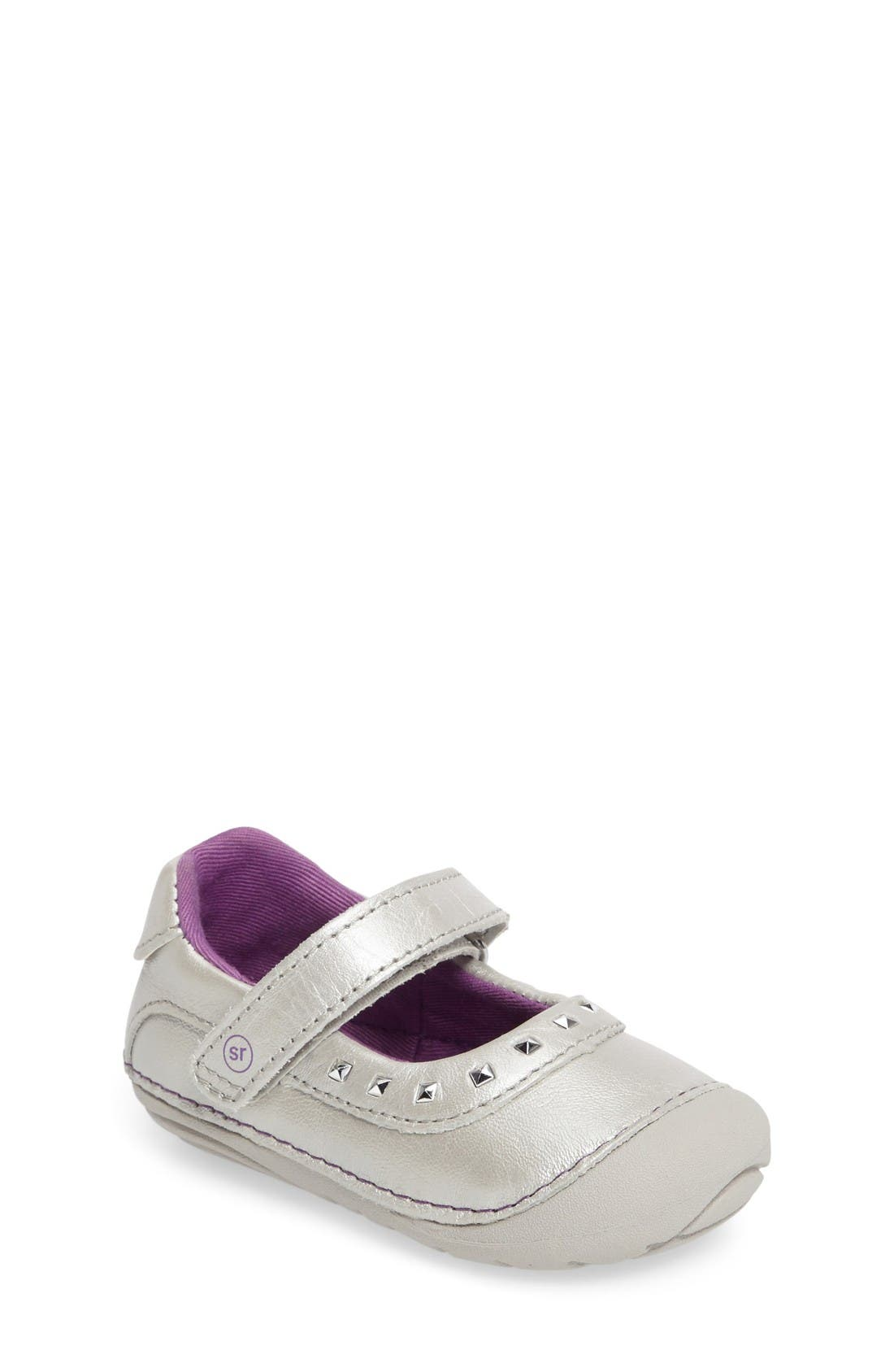 Alternate Image 1 Selected - Stride Rite Soft Motion™ Arabelle Mary Jane (Baby & Walker)