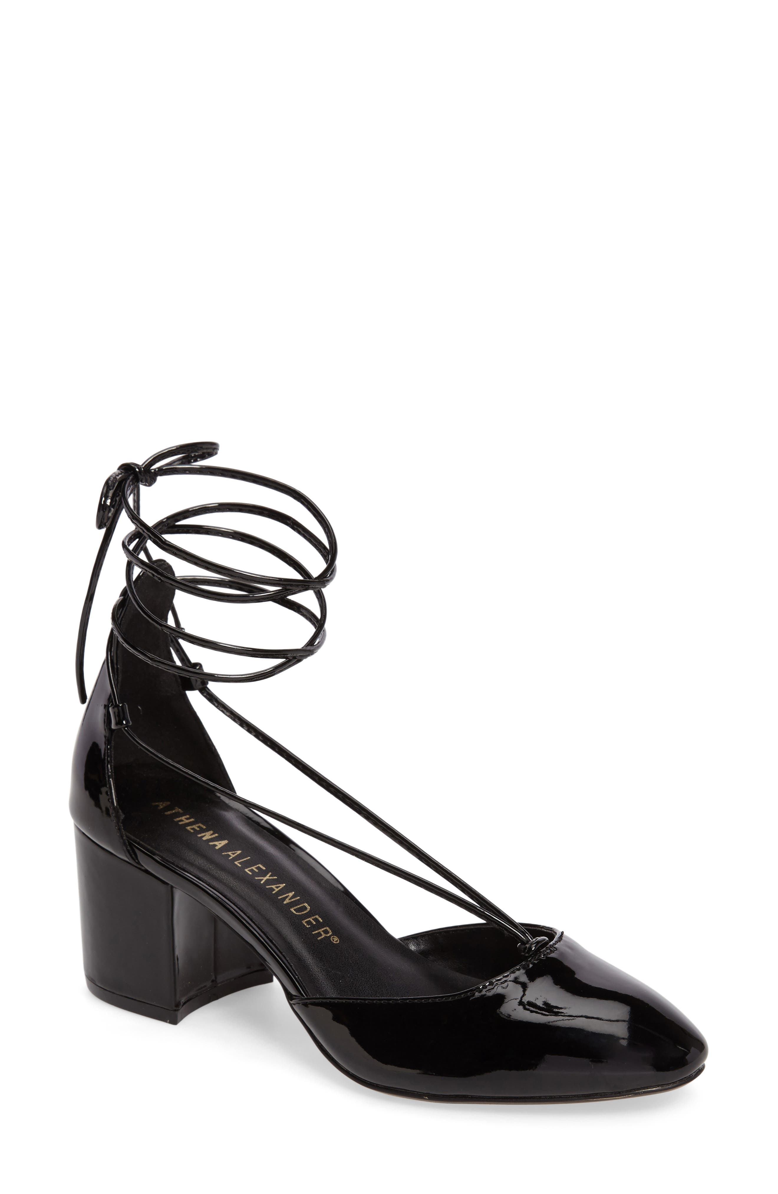 Athena Alexander Caprice Strappy d'Orsay Pump (Women)