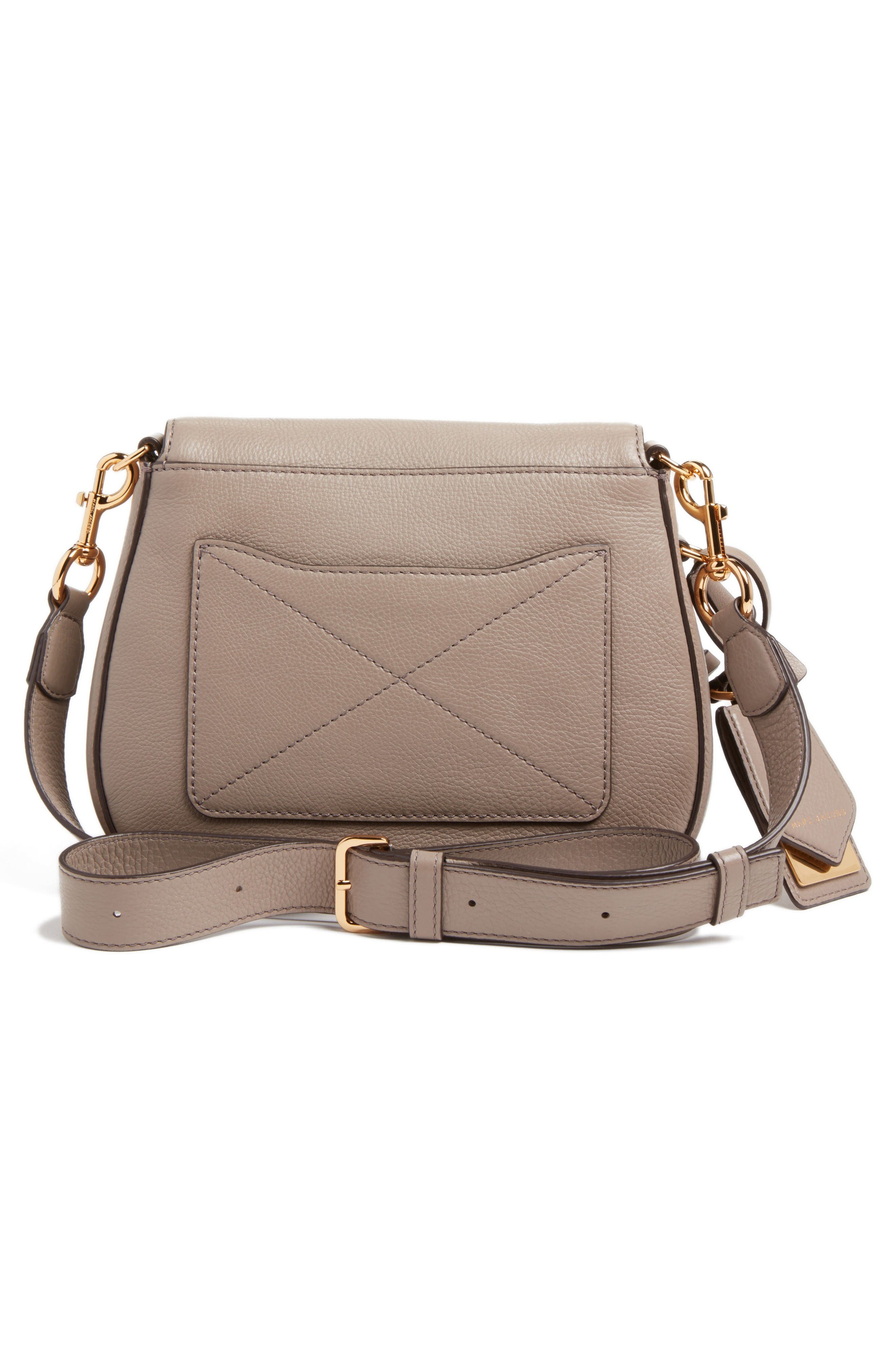 Alternate Image 2  - MARC JACOBS Small Recruit Nomad Pebbled Leather Crossbody Bag