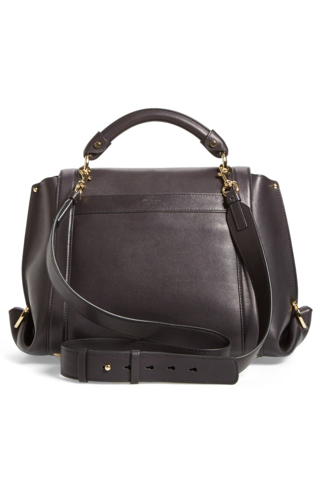 Alternate Image 3  - Salvatore Ferragamo Medium Leather Satchel