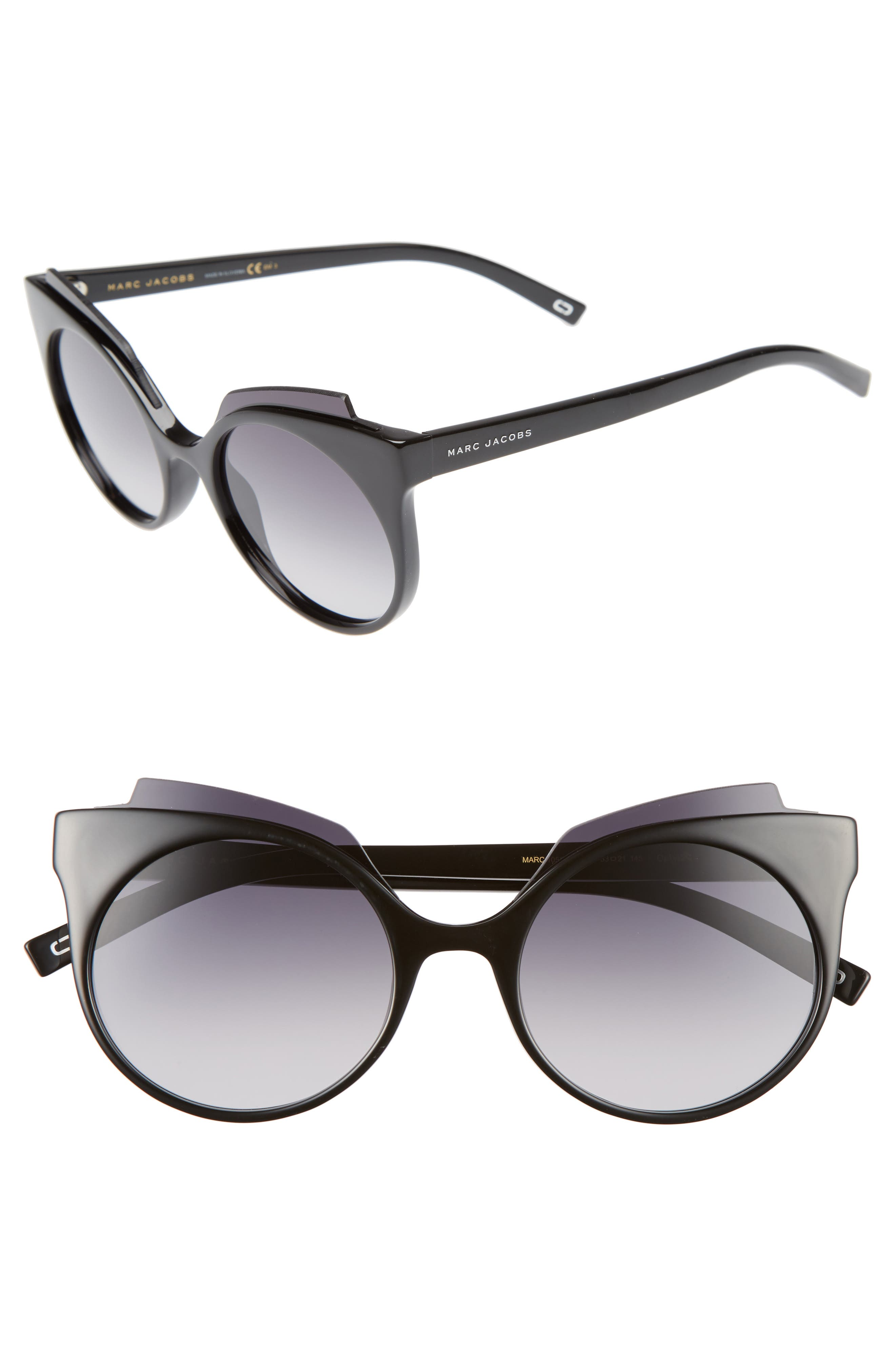 Alternate Image 1 Selected - MARC JACOBS 53mm Oversized Sunglasses
