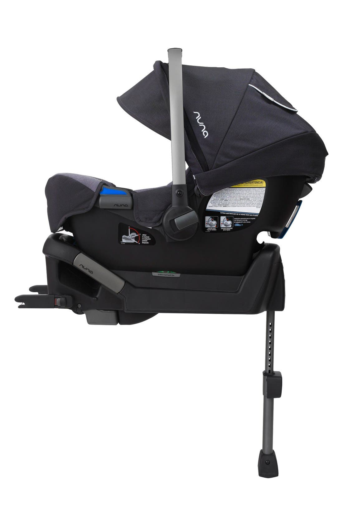 Alternate Image 8  - nuna MIXX™ Stroller System & PIPA™ Car Seat Set