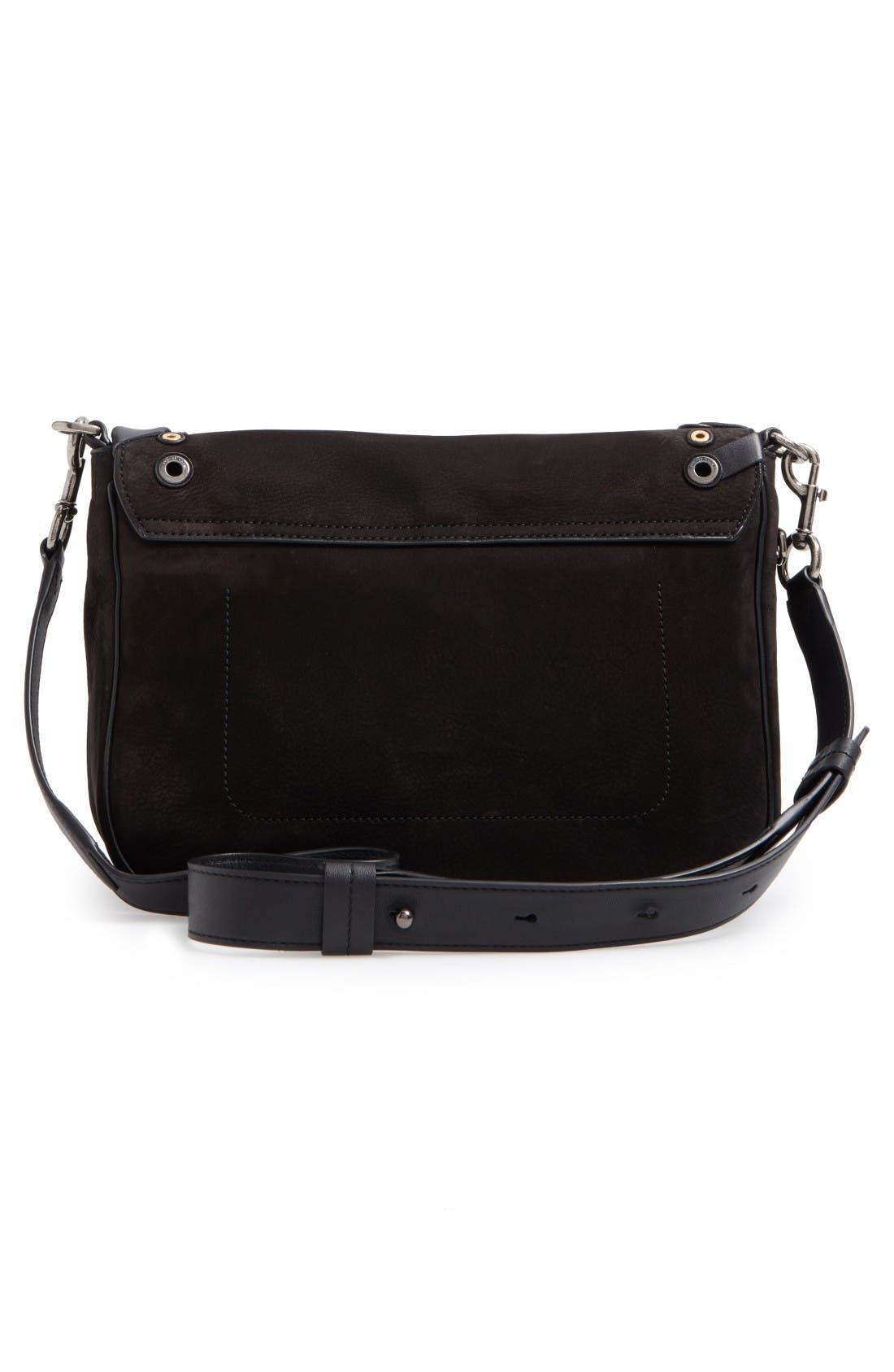 Alternate Image 2  - MARC JACOBS Courier Nubuck Leather Shoulder Bag