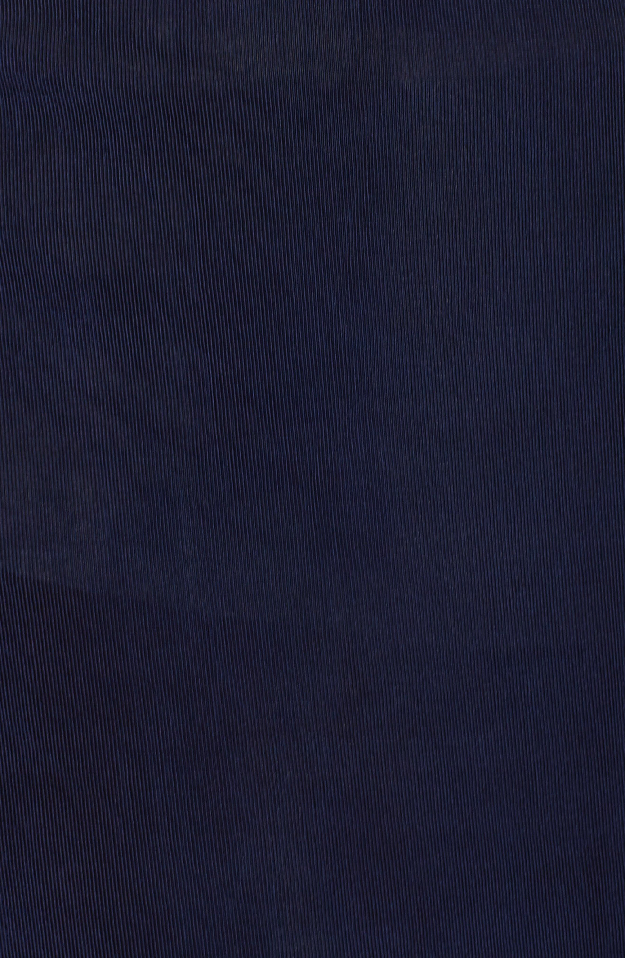 Long A-Line Skirt,                             Alternate thumbnail 5, color,                             Navy
