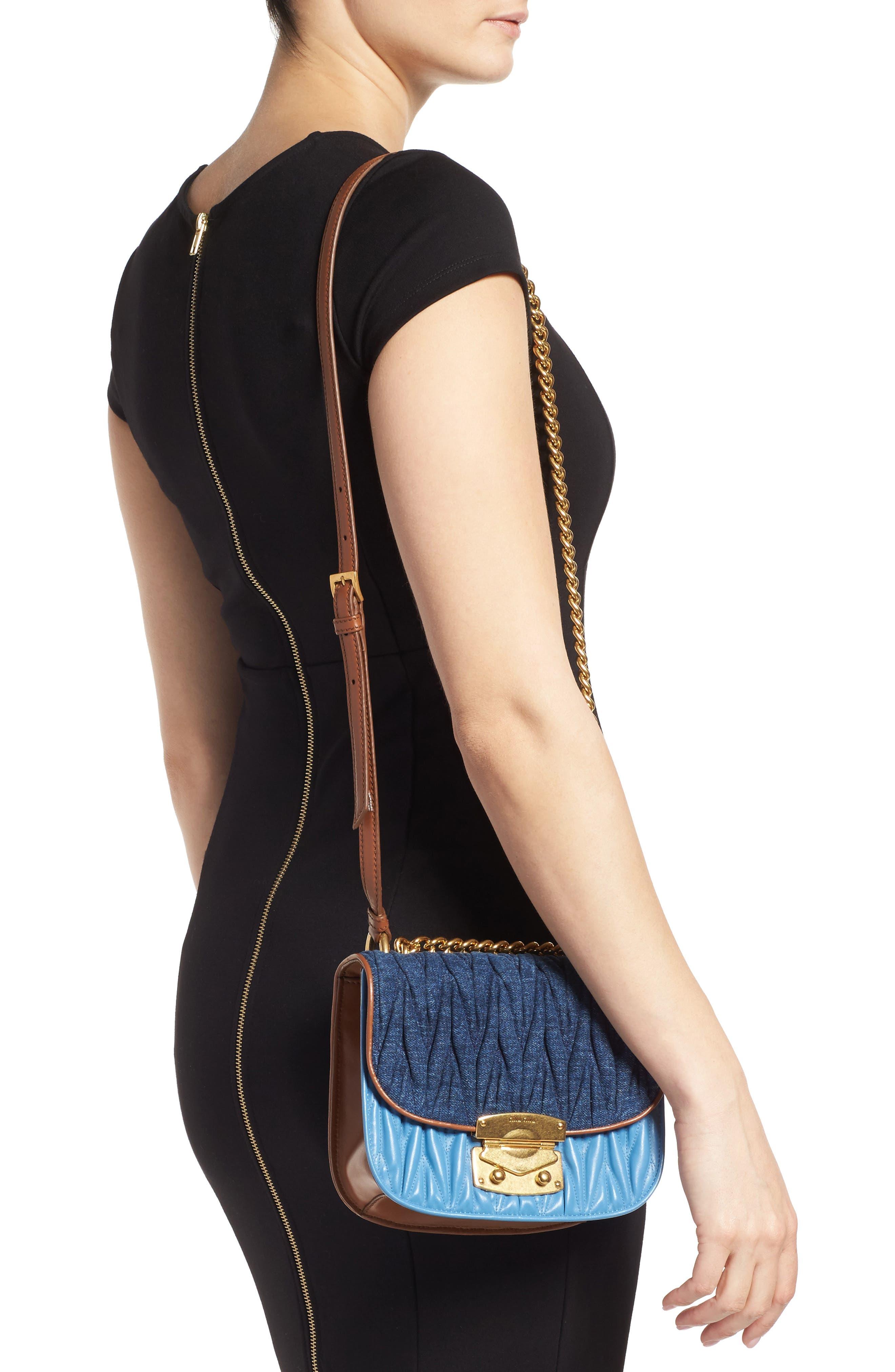 Alternate Image 2  - Miu Miu Matelassé Crossbody Bag