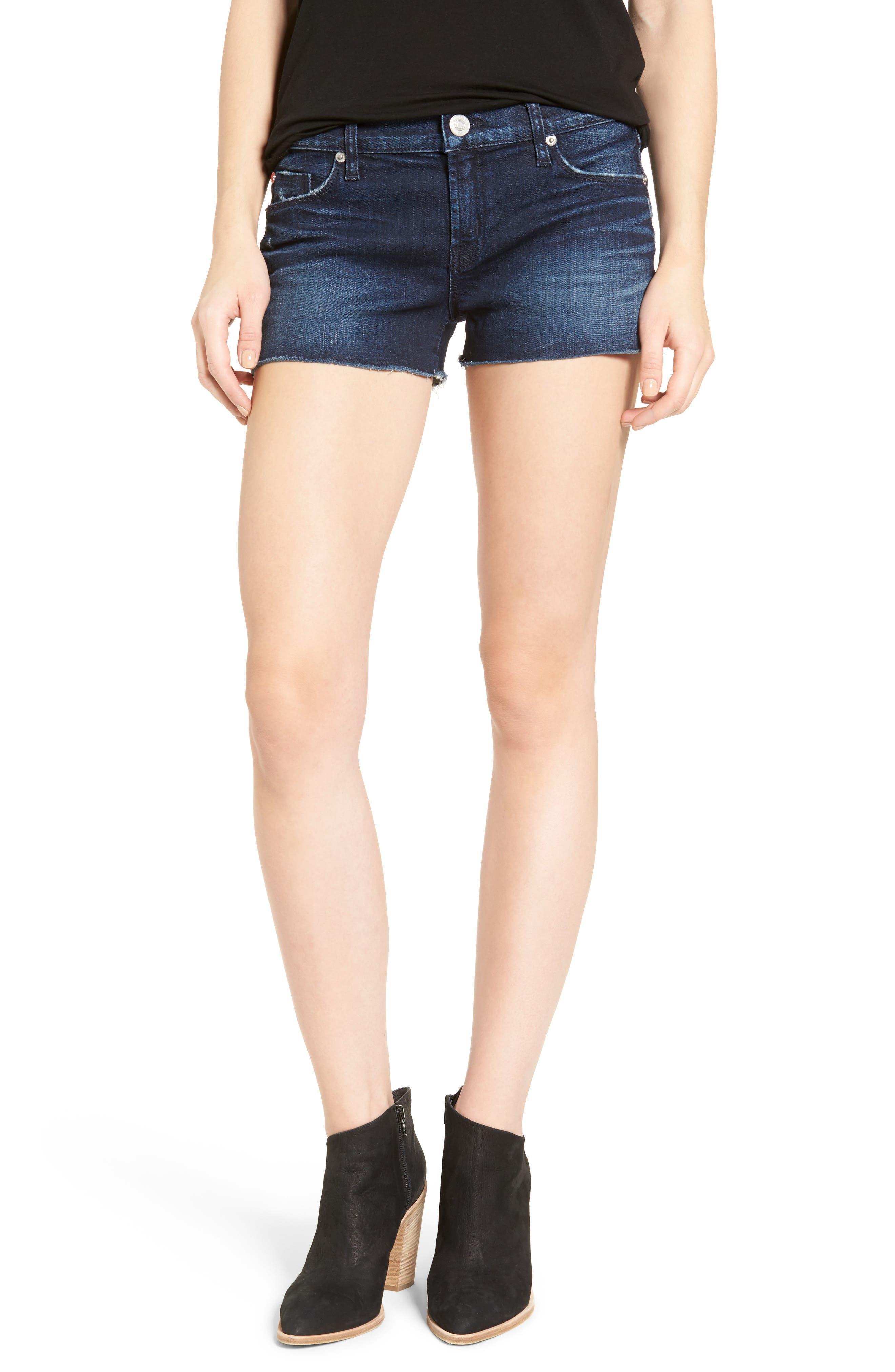Hudson Jeans Kenzie Cutoff Denim Shorts (Zero Hour)
