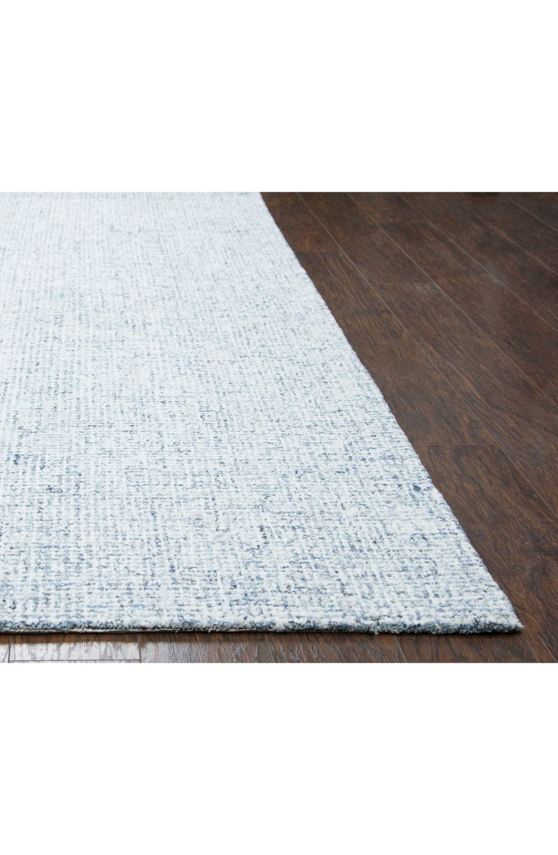 Bramble Hand Tufted Wool Area Rug,                             Alternate thumbnail 2, color,                             Blue