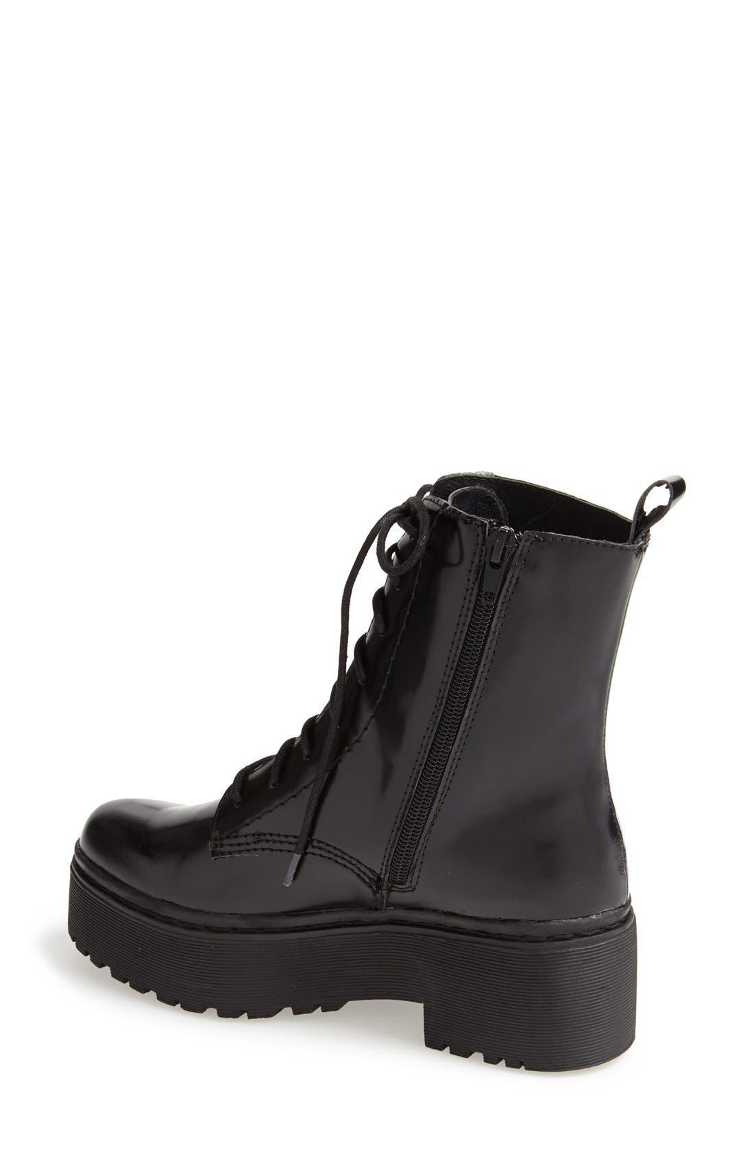 'Finnick' Boot,                             Alternate thumbnail 2, color,                             Black