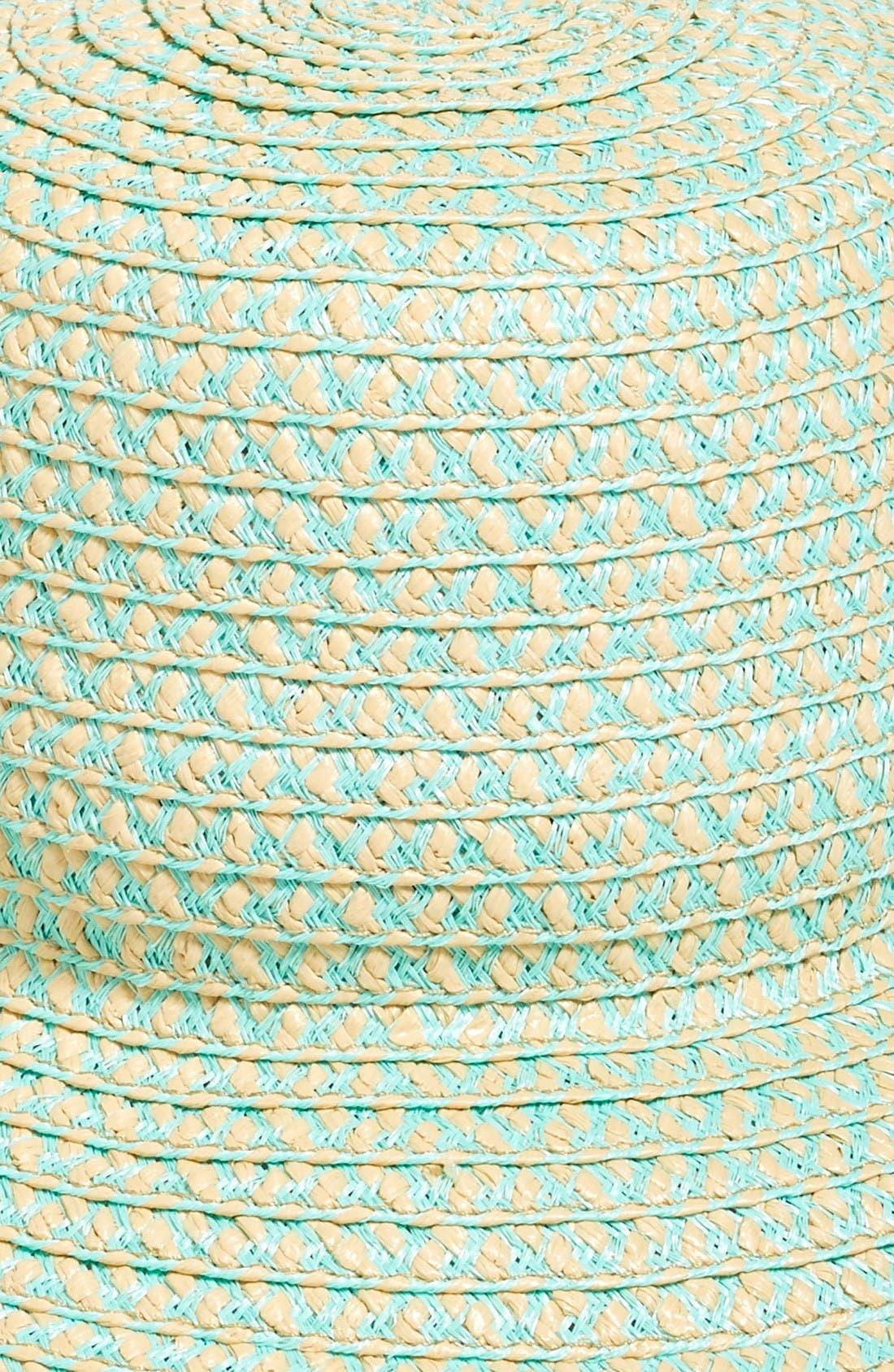 'Tiki' Bucket Hat,                             Alternate thumbnail 3, color,                             Mint Mix