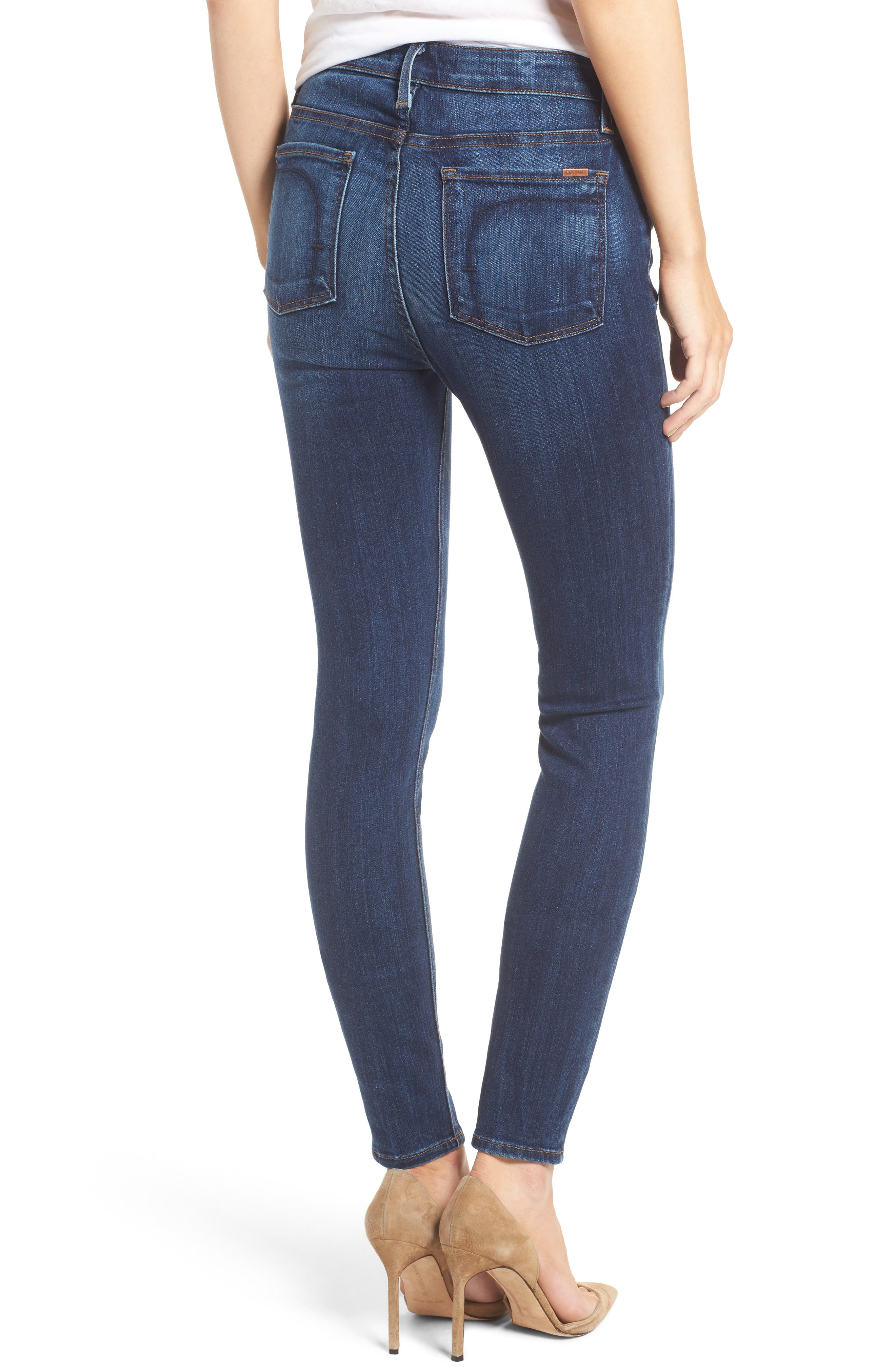 Gwen High Waist Skinny Jeans,                             Alternate thumbnail 2, color,                             Liverpool