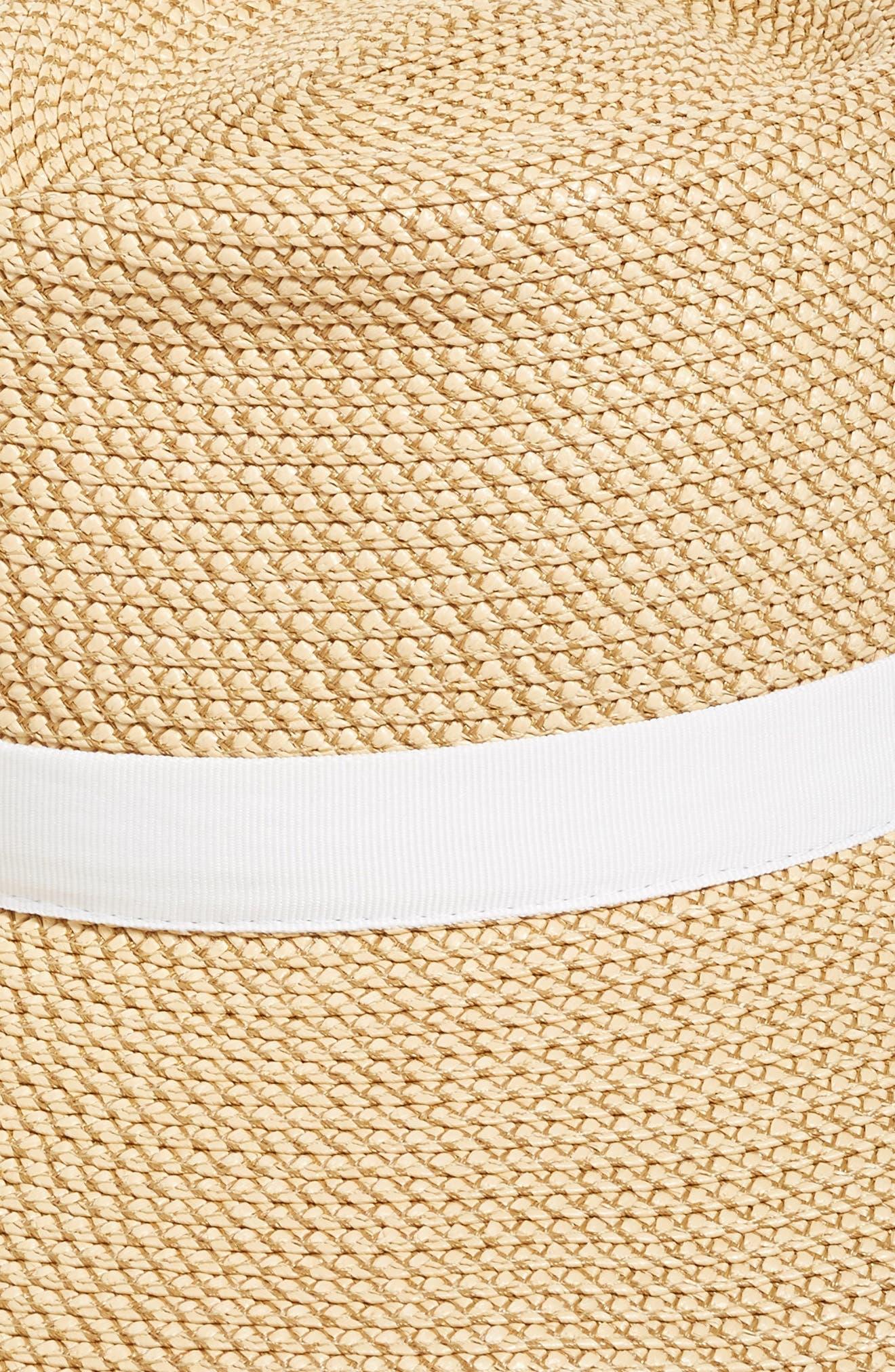 Alternate Image 2  - Eric Javits 'Sun Crest' Packable Hybrid Fedora Visor