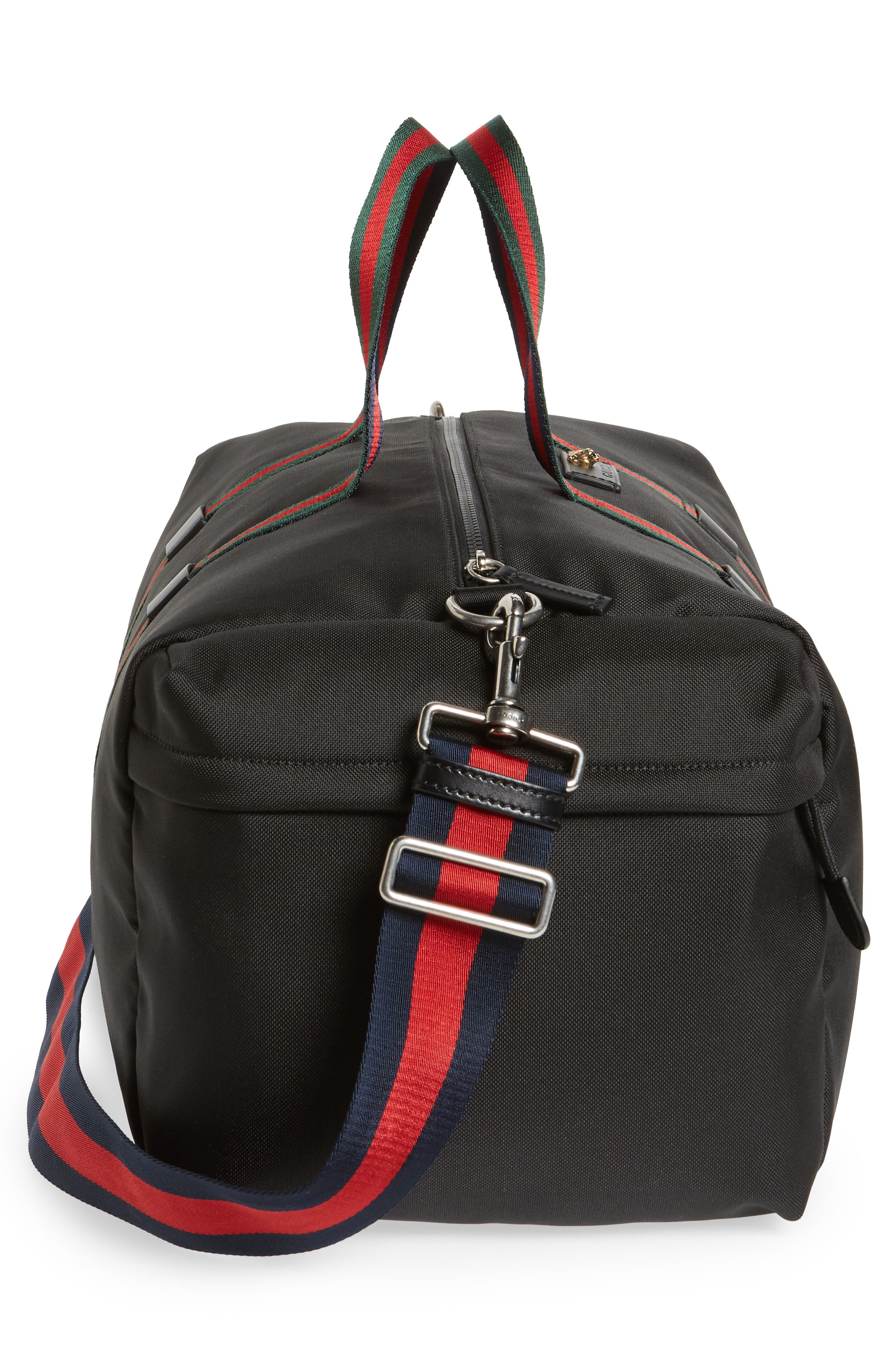 Alternate Image 4  - Gucci Techpack Canvas Duffle Bag