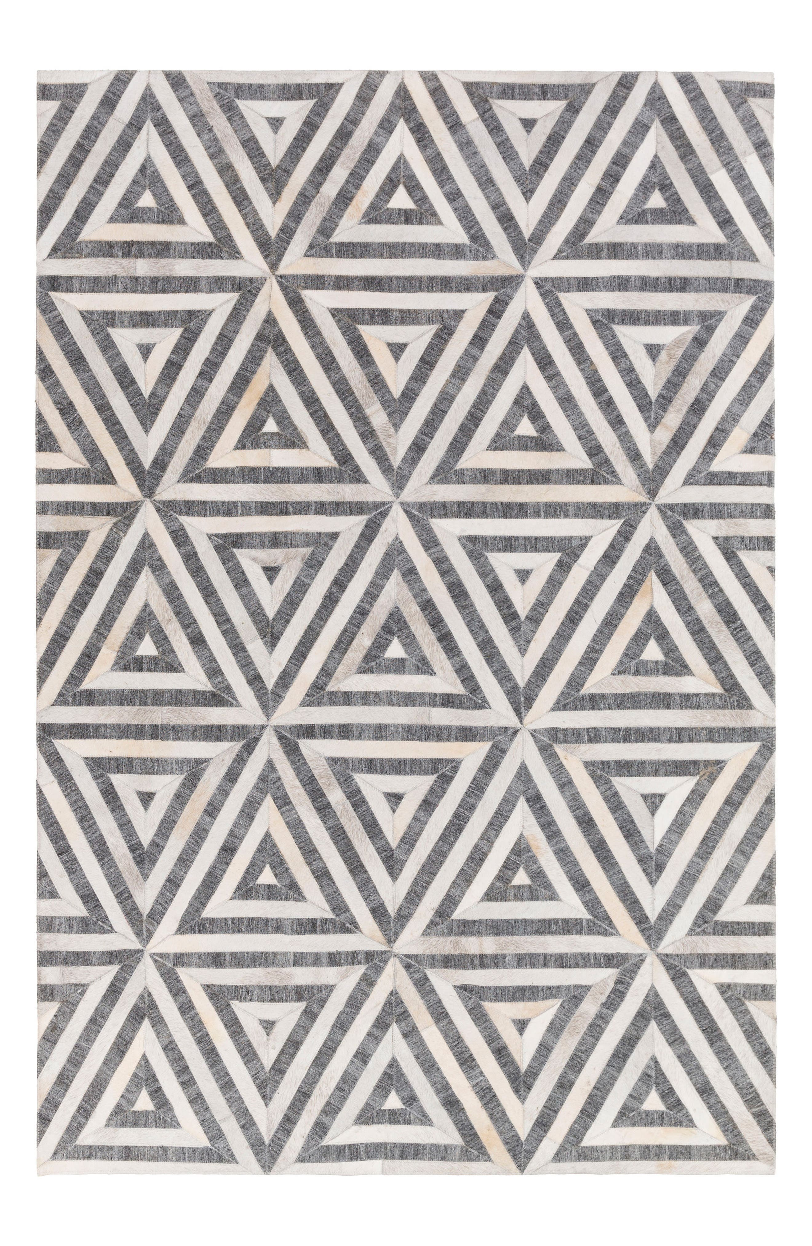 Alternate Image 1 Selected - Surya Home Medora Sophia Genuine Calf Hair Rug