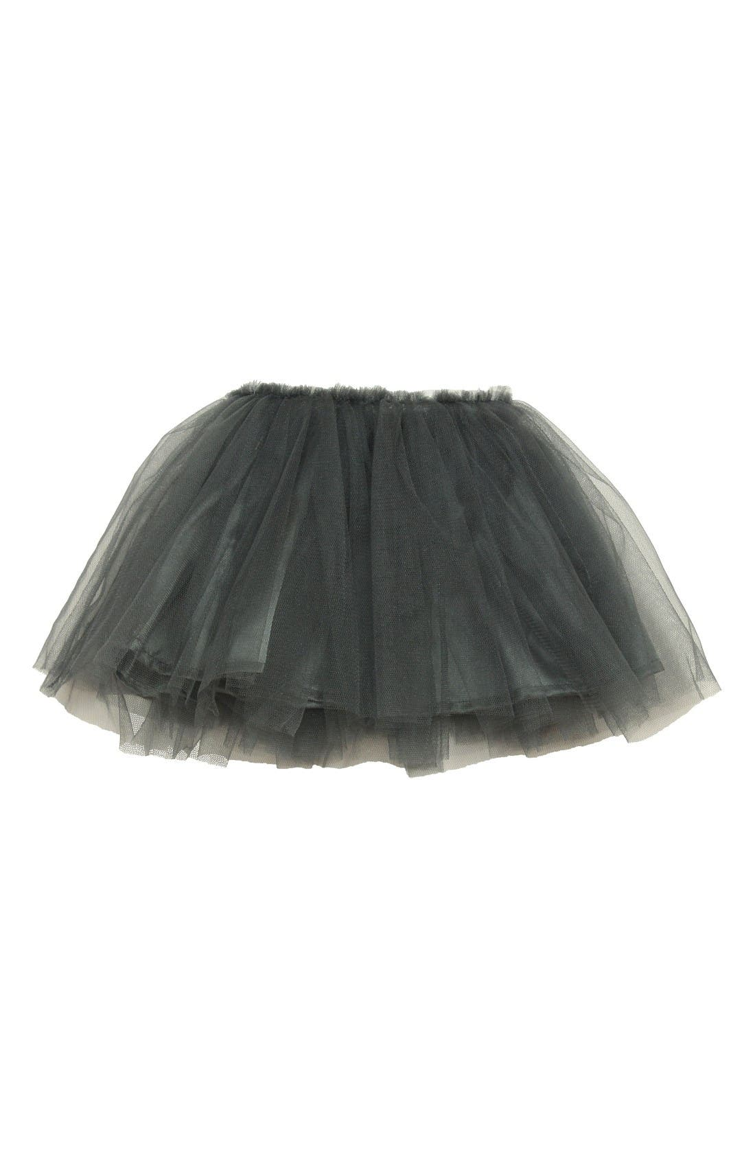 Gold Star Tutu Skirt,                             Alternate thumbnail 2, color,                             Dark Grey
