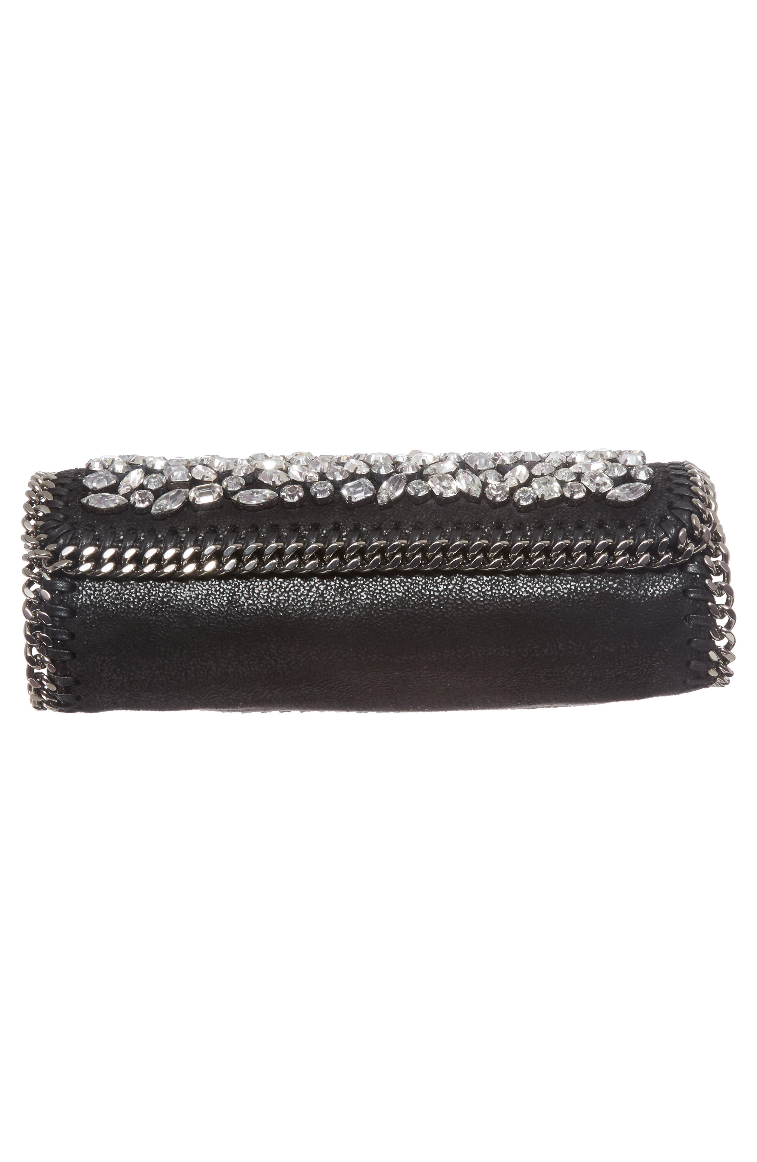 Alternate Image 6  - Stella McCartney Small Fallabella Crystal Faux Leather Crossbody Bag