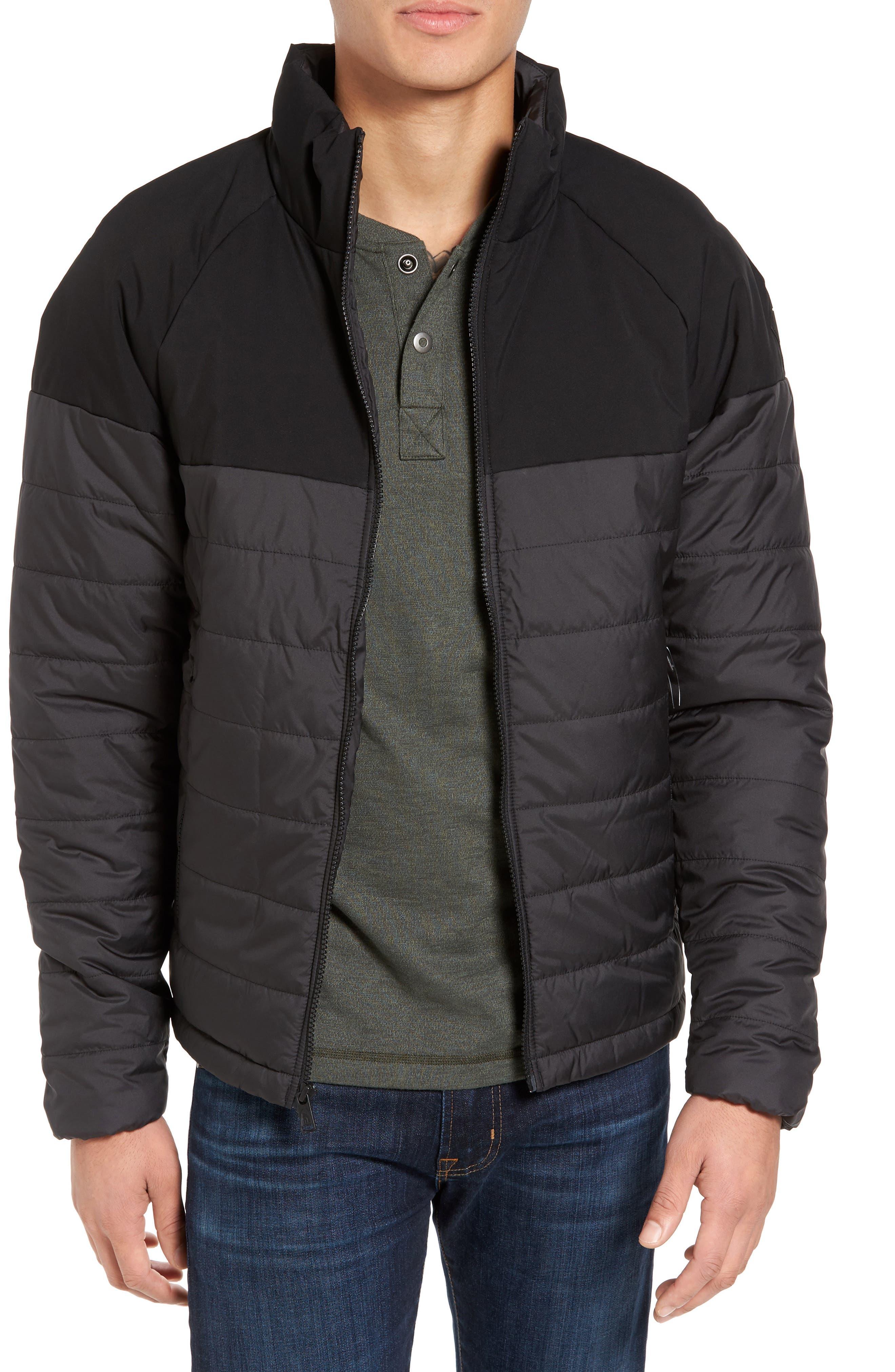 Skokie Jacket,                         Main,                         color, Tnf Black/ Tnf Black