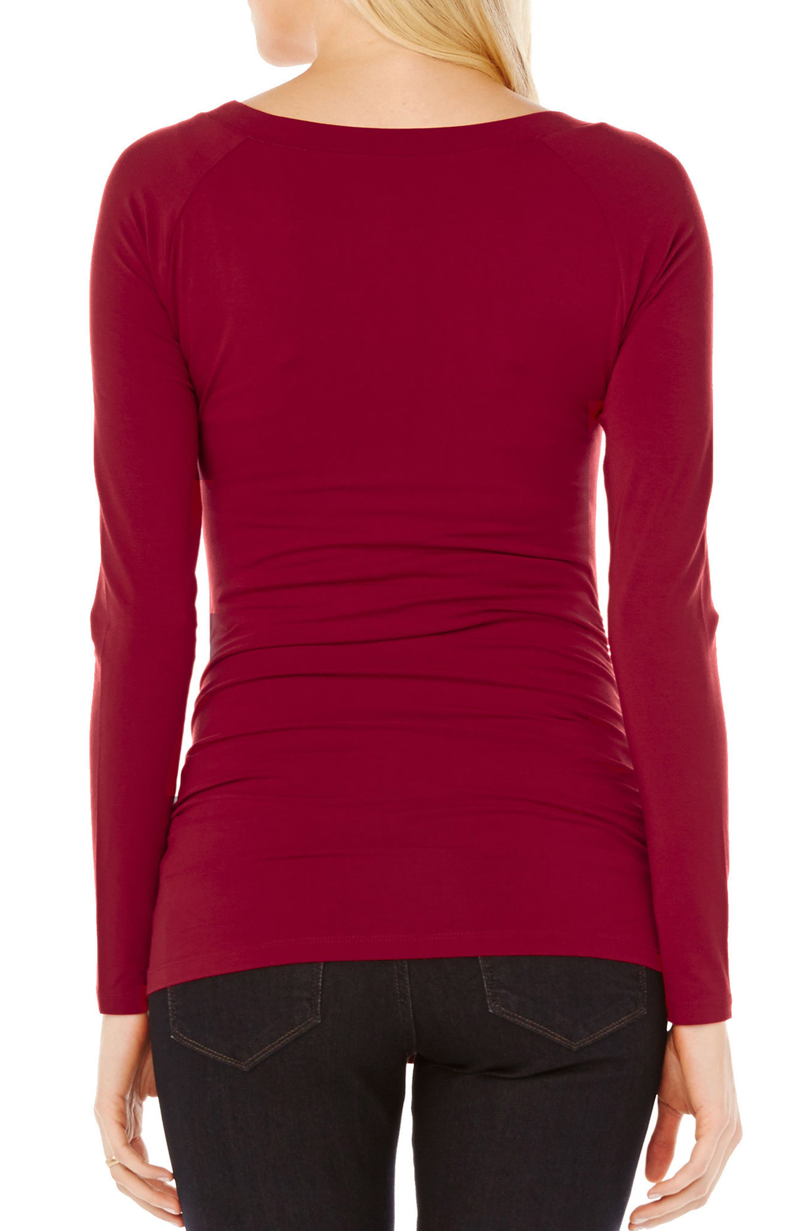 Alternate Image 2  - Rosie Pope 'Sylvie' Long Sleeve Maternity Tee