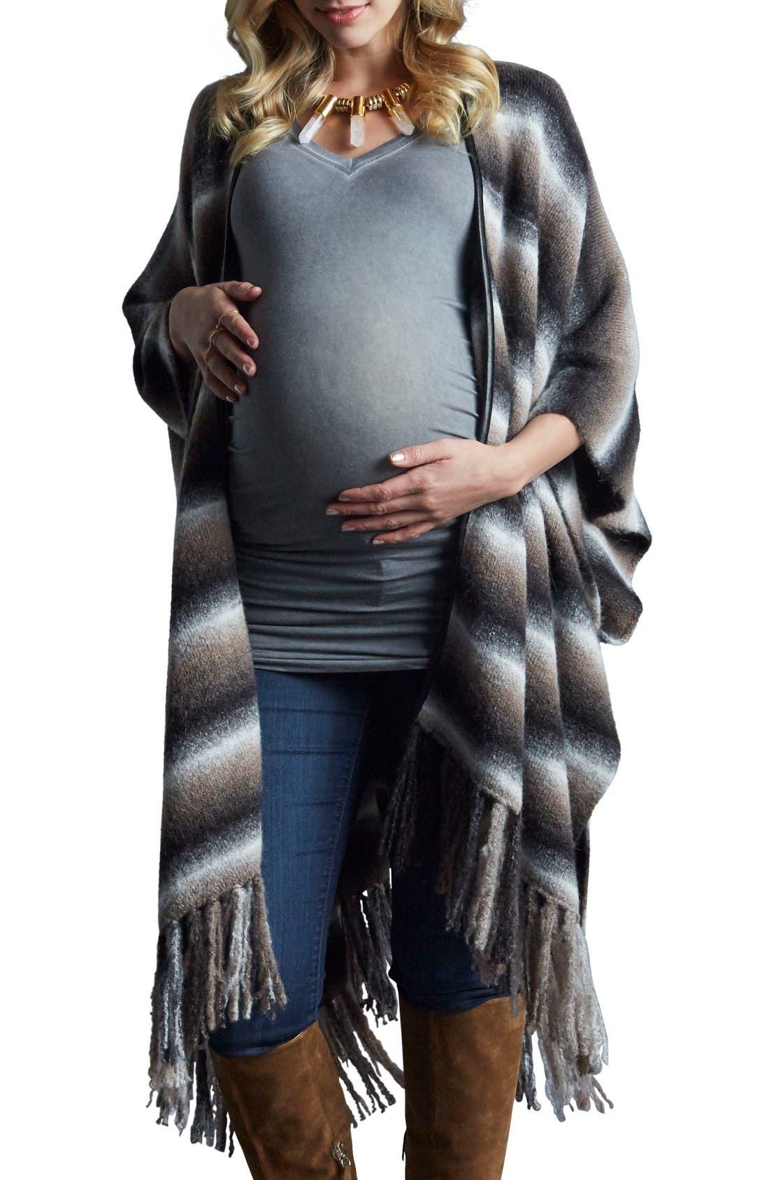Tart Maternity Multi-Way Fringe Wrap