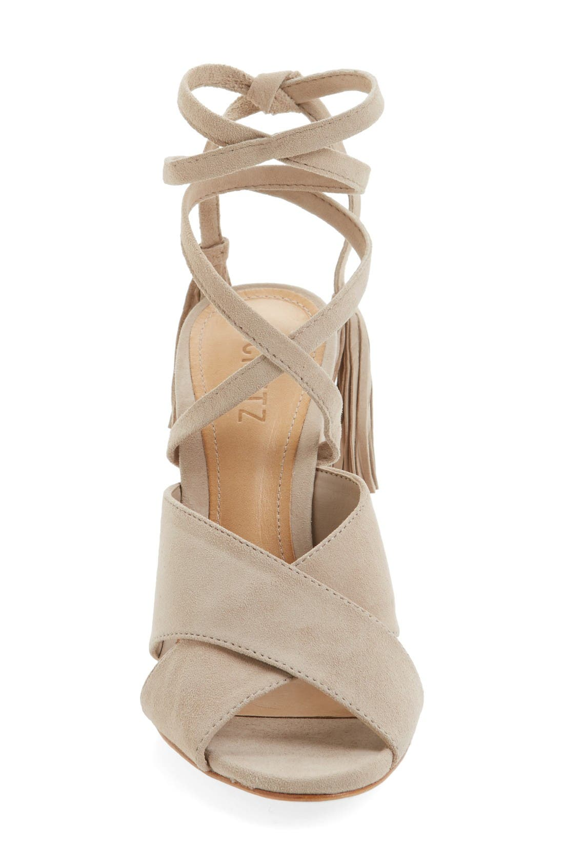 Alternate Image 3  - Schutz Damila Wraparound Tassel Sandal (Women)