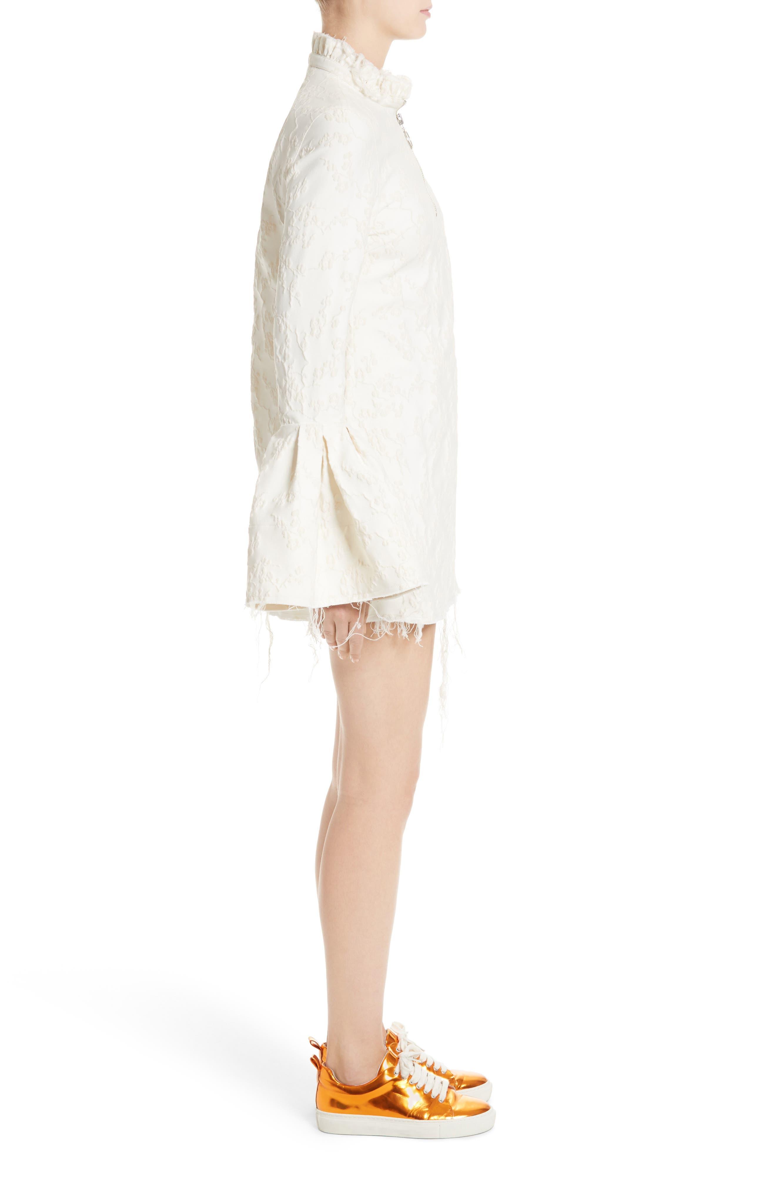 Alternate Image 5  - Marques'Almeida Bell Sleeve Minidress