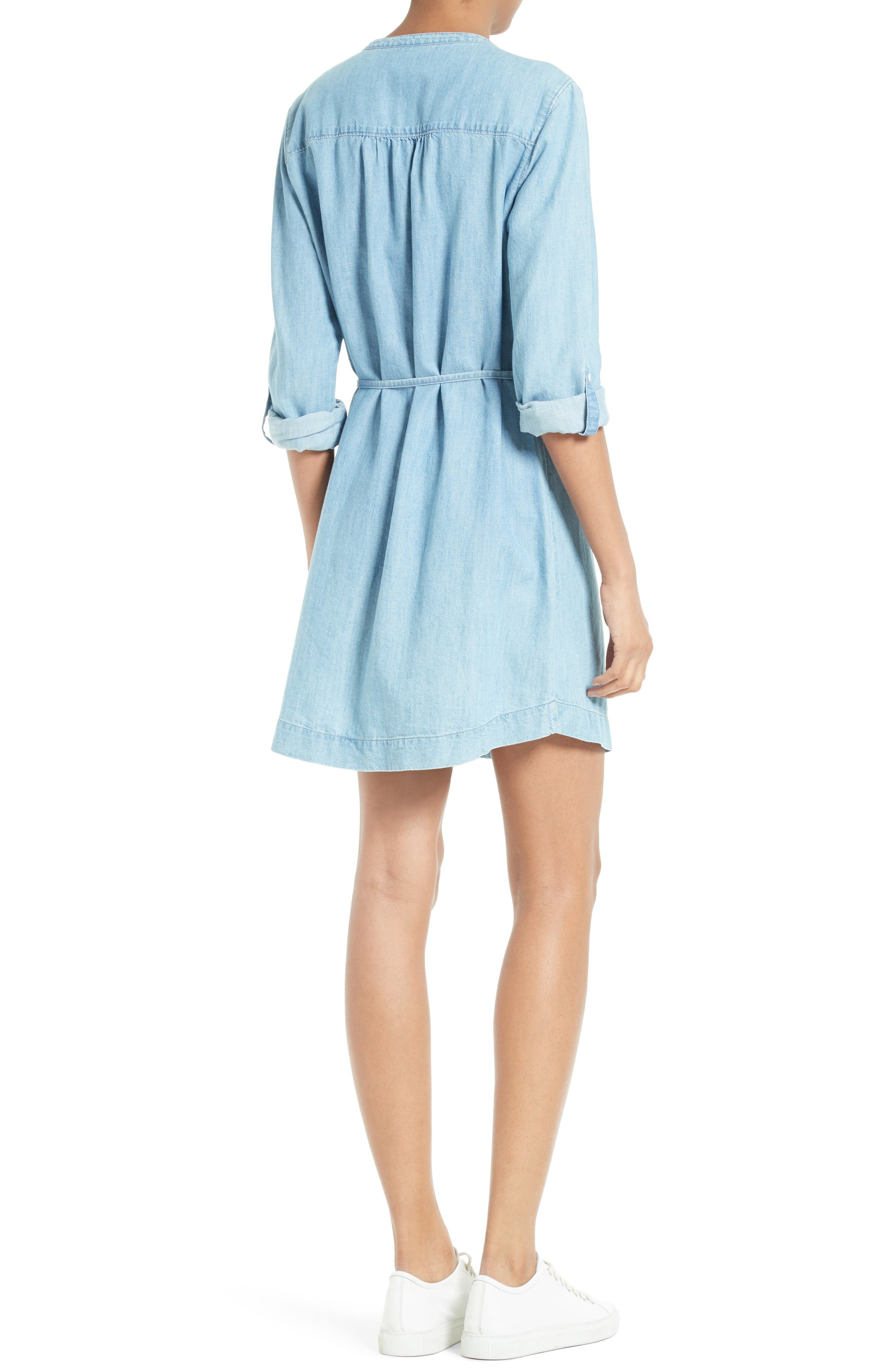 Alternate Image 2  - Soft Joie Milli Chambray Shirtdress