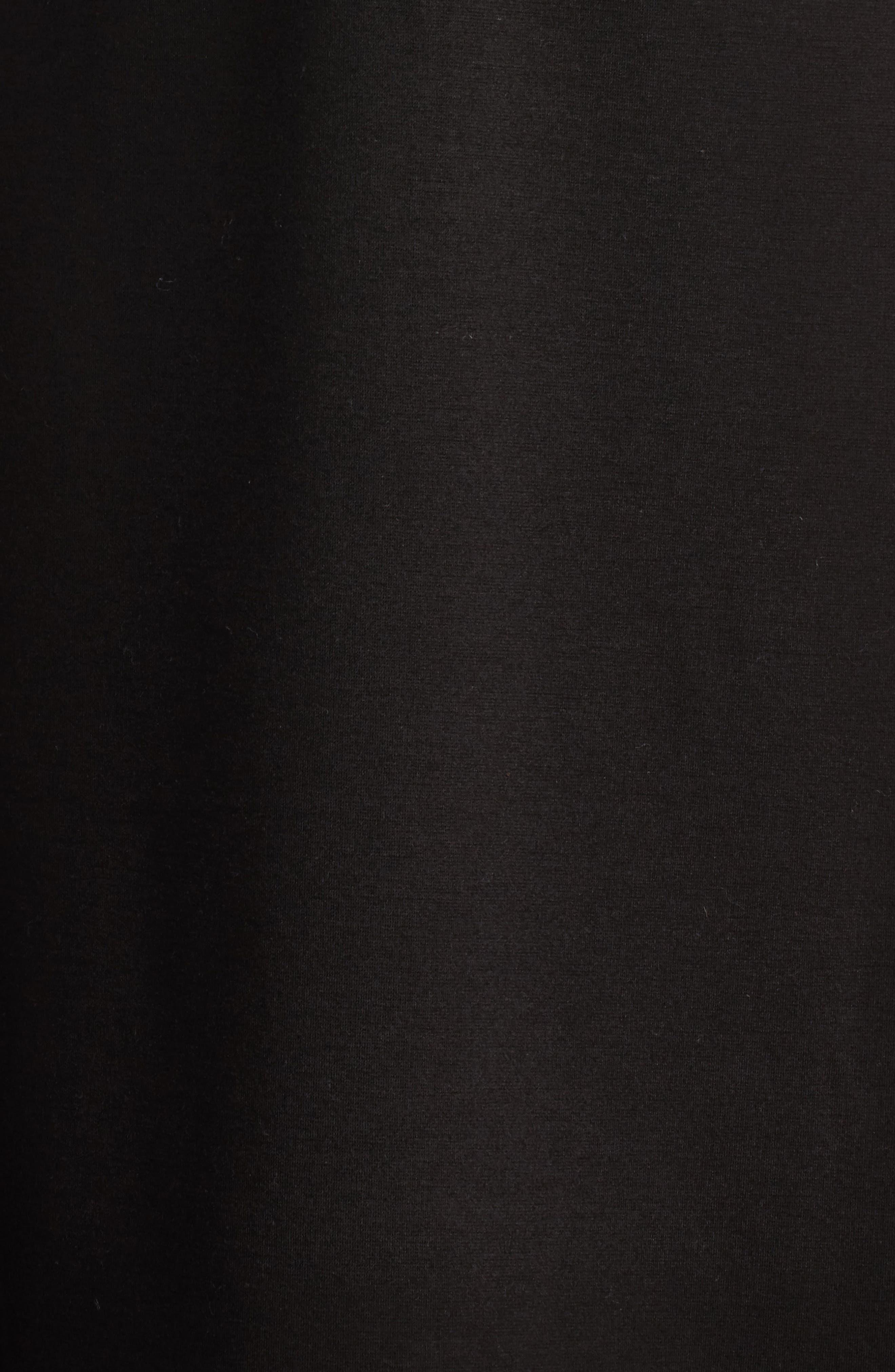 Empire Sheath Dress,                             Alternate thumbnail 3, color,                             Black