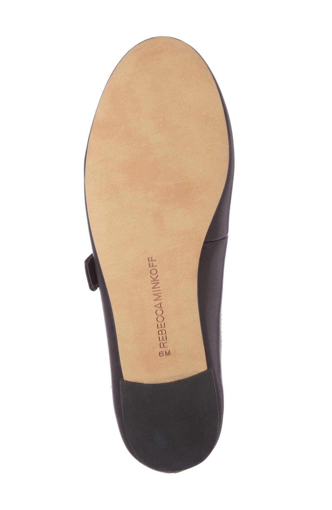 Alternate Image 4  - Rebecca Minkoff Rachel Buckle Strap Flat (Women)