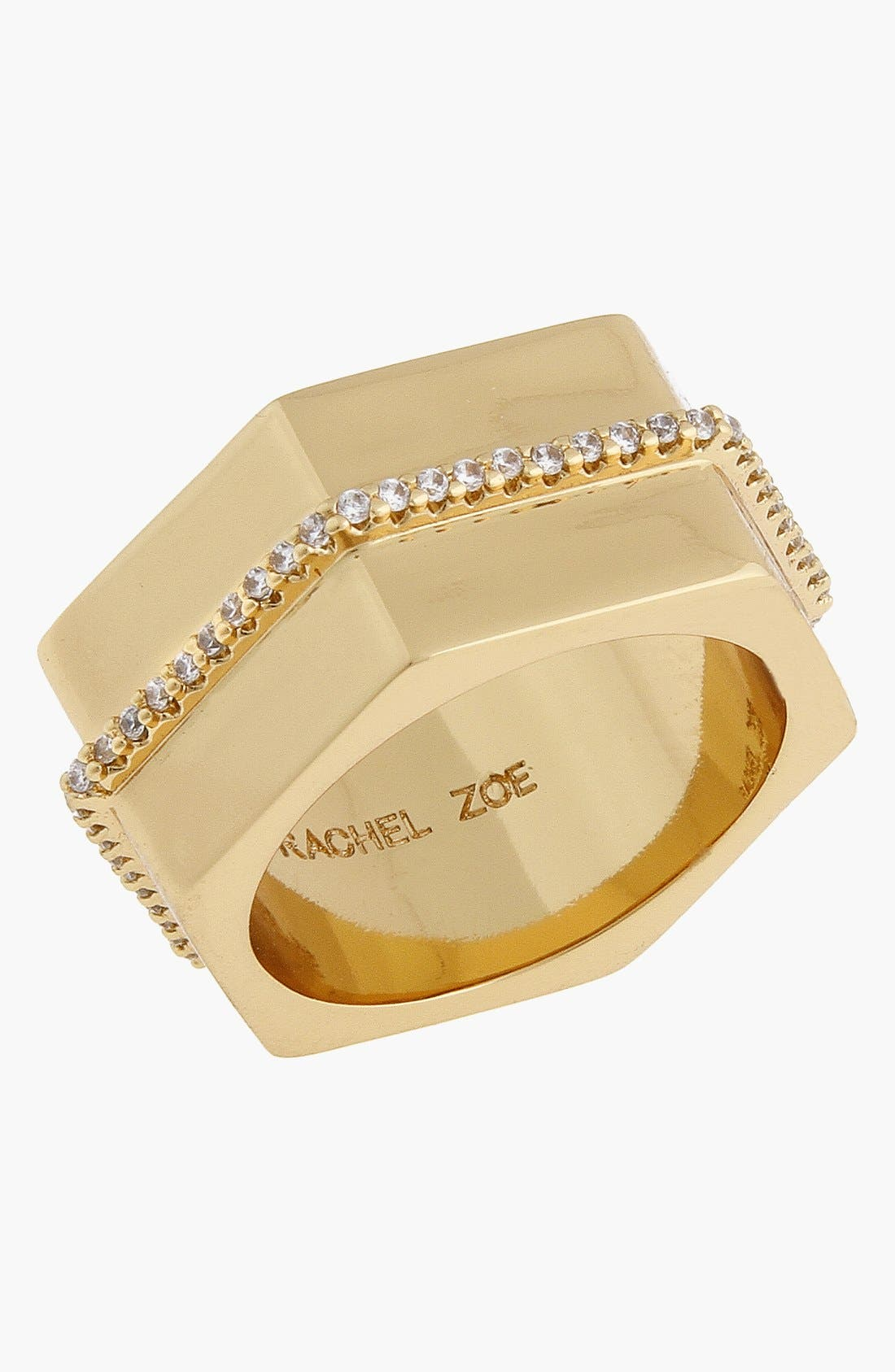 Alternate Image 1 Selected - Rachel Zoe 'Gavriel' Hexagon Ring
