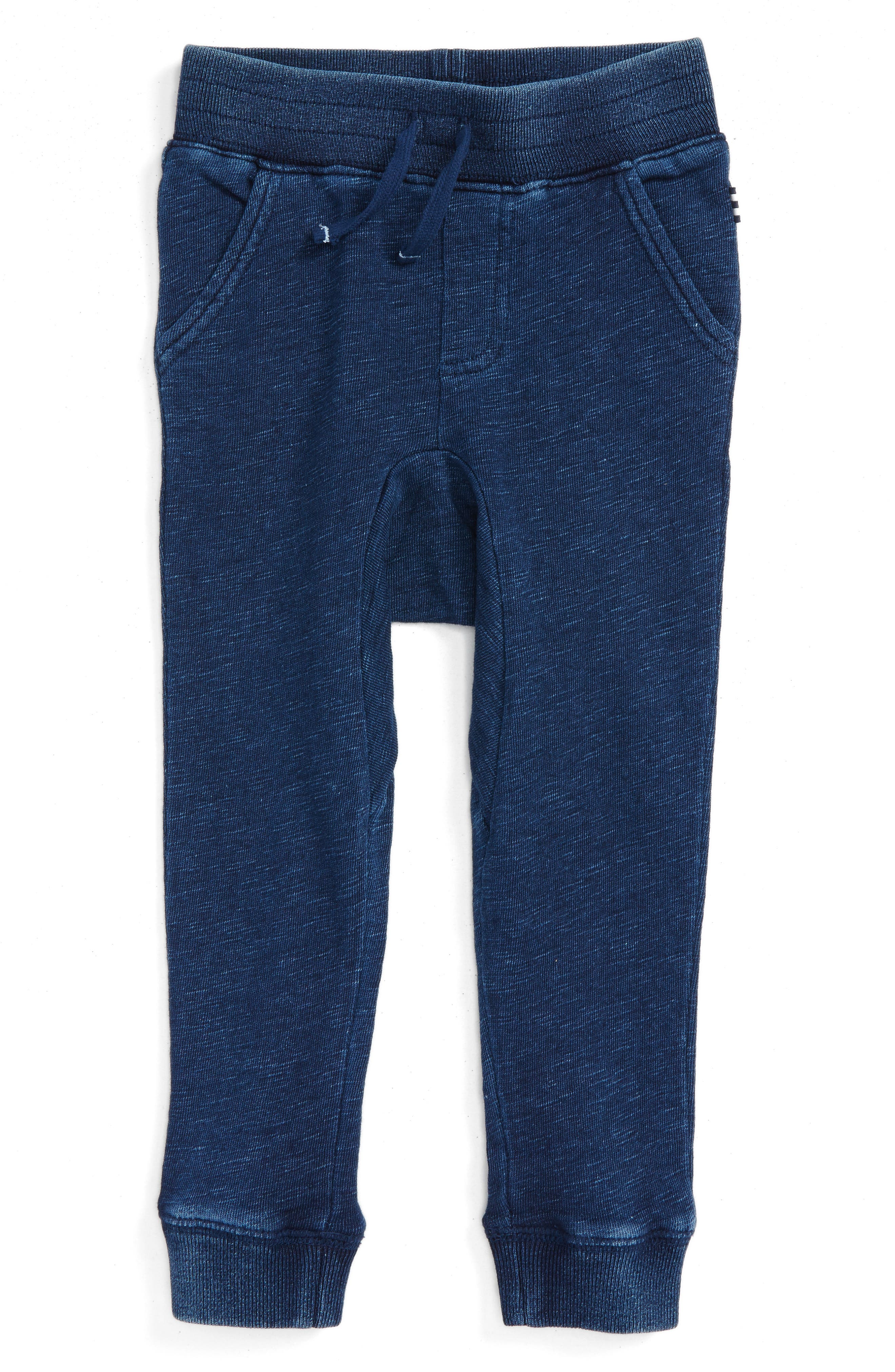 Double Knit Jogger Pants,                             Main thumbnail 1, color,                             Dark Stone