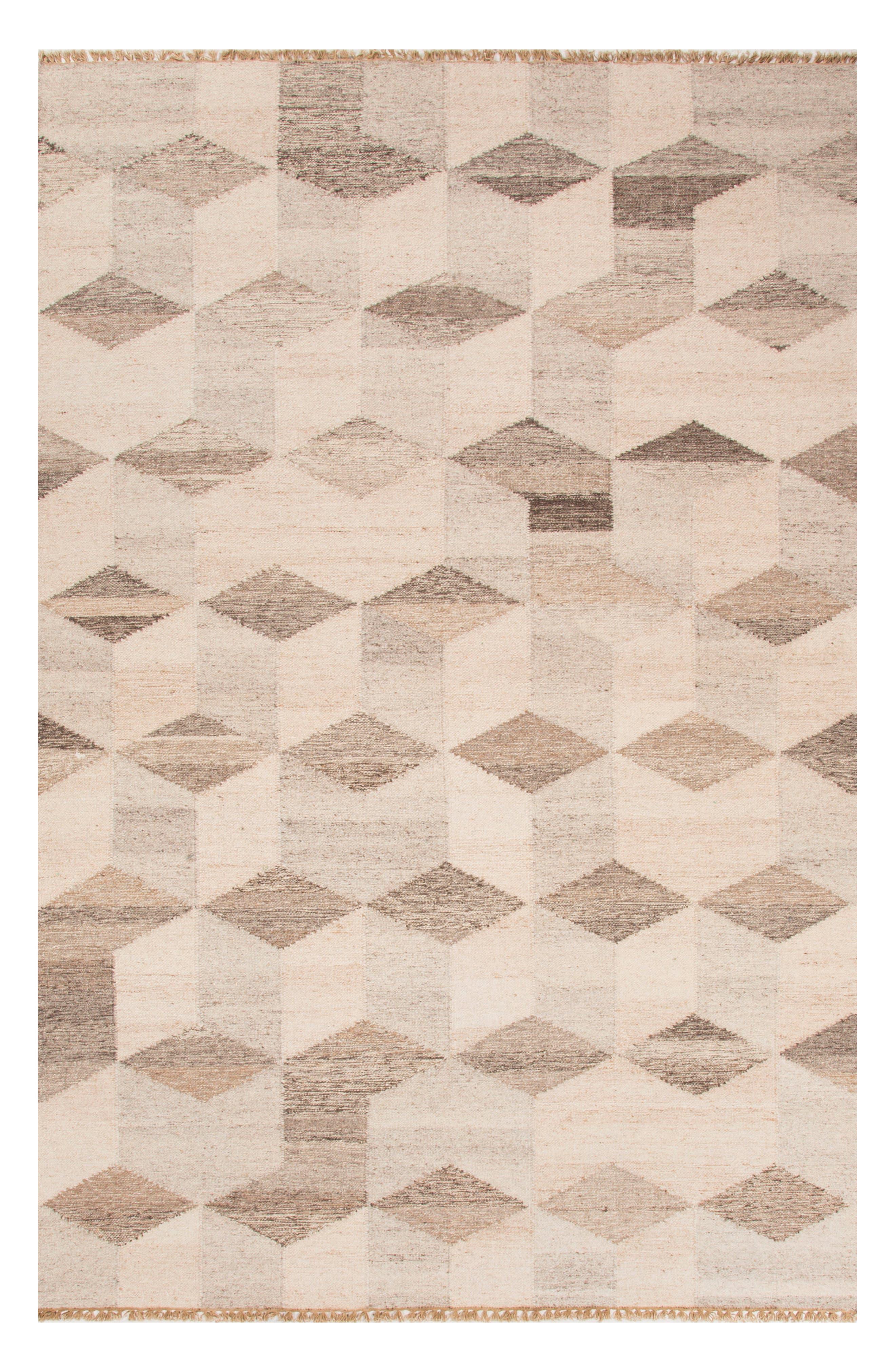 Main Image - Jaipur Pyramid Blocks Wool Rug