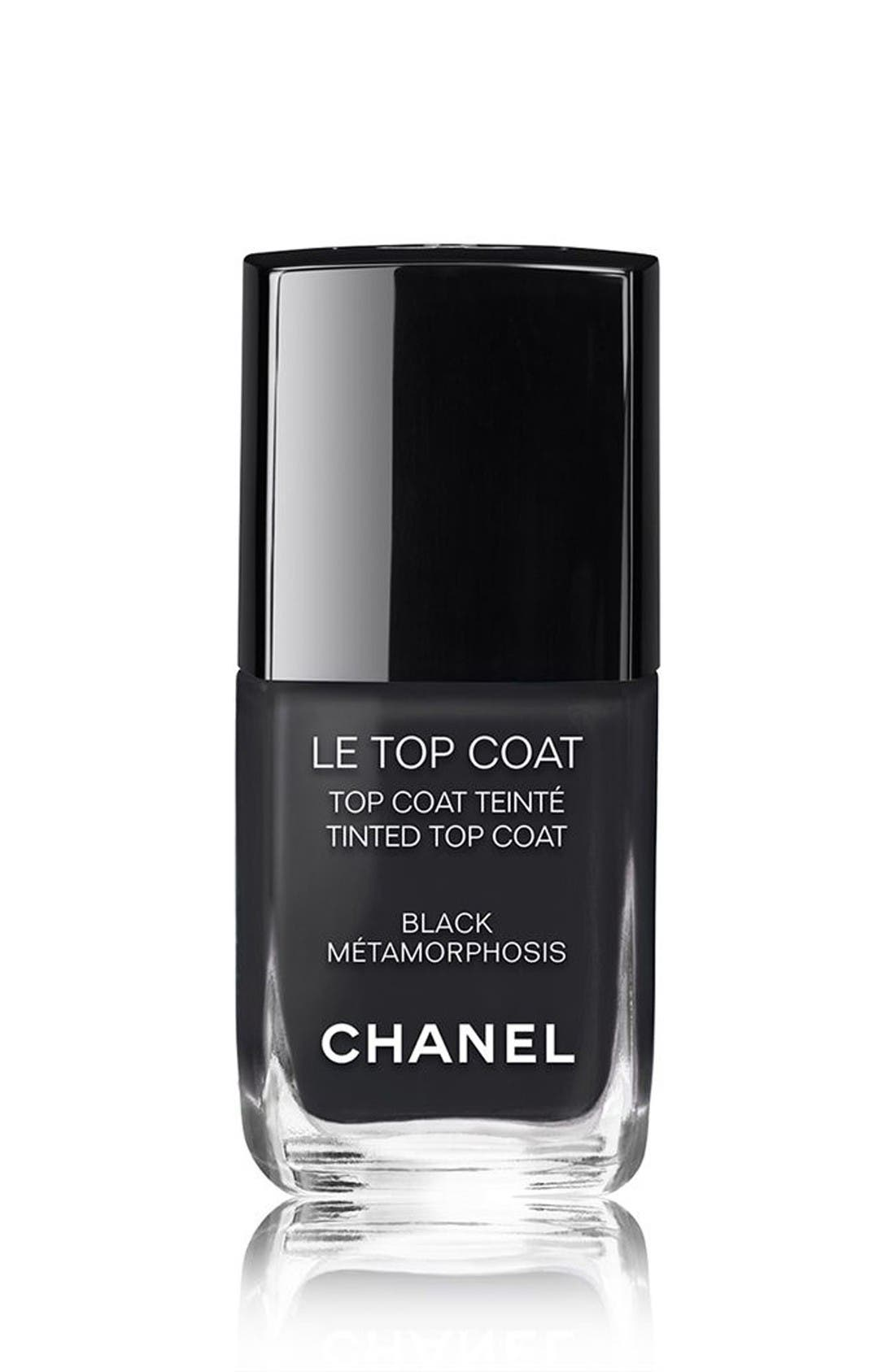 CHANEL LE TOP COAT  Tinted Top Coat (Limited Edition)