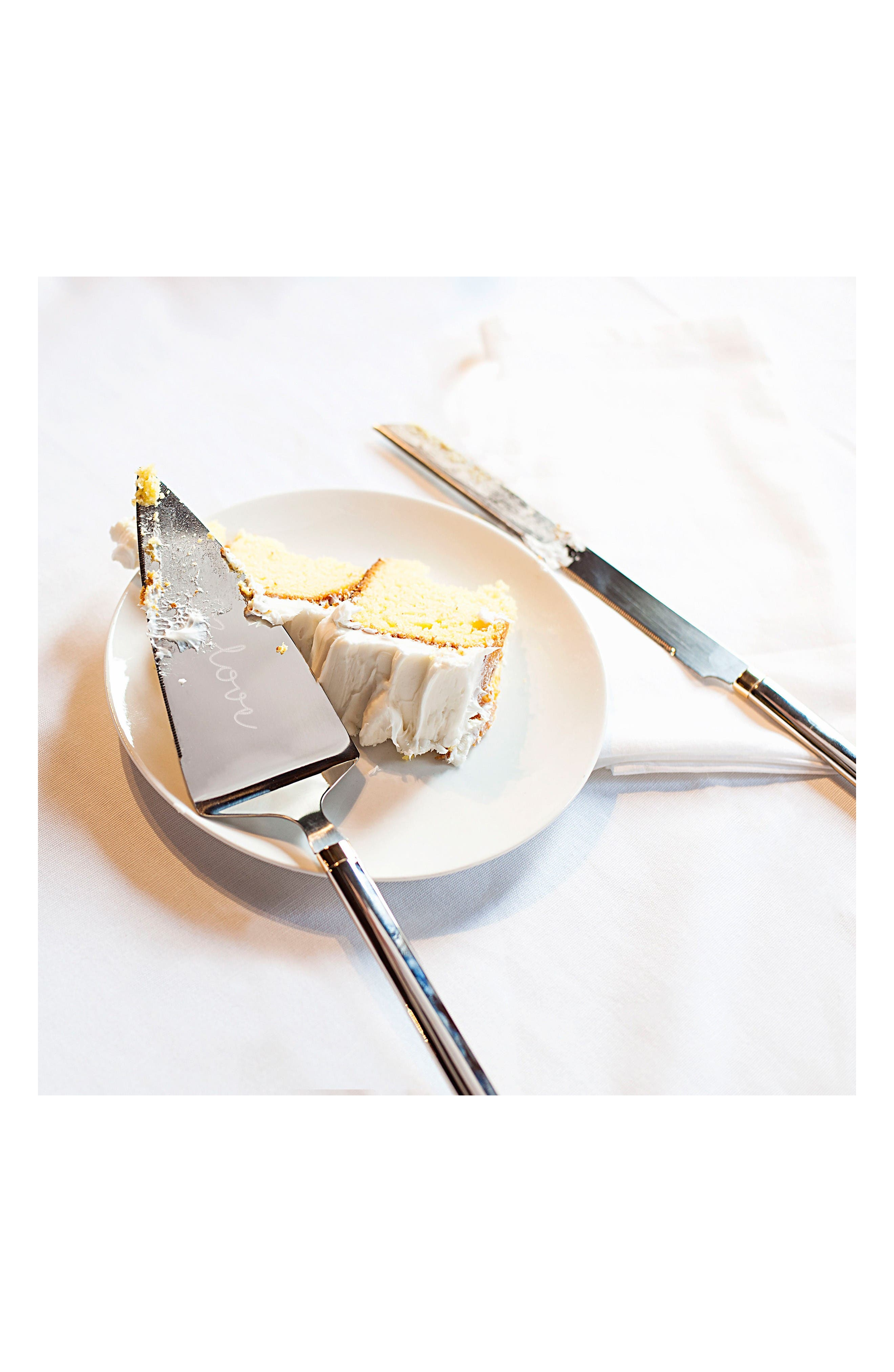 Alternate Image 4  - Cathy's Concepts Golden Love Cake Server Set