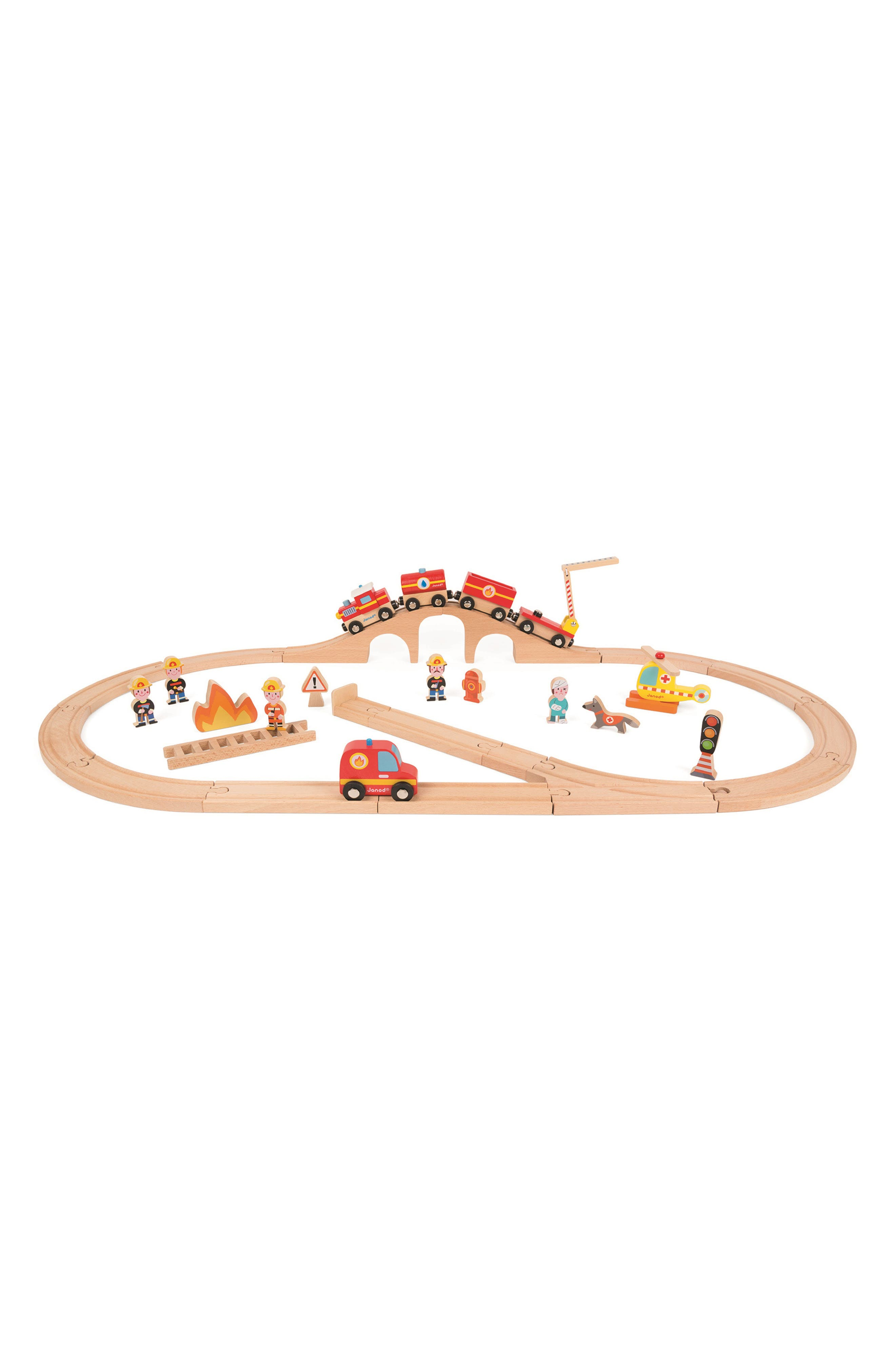 Story Express Firefighter Play Set,                             Alternate thumbnail 6, color,                             Multi