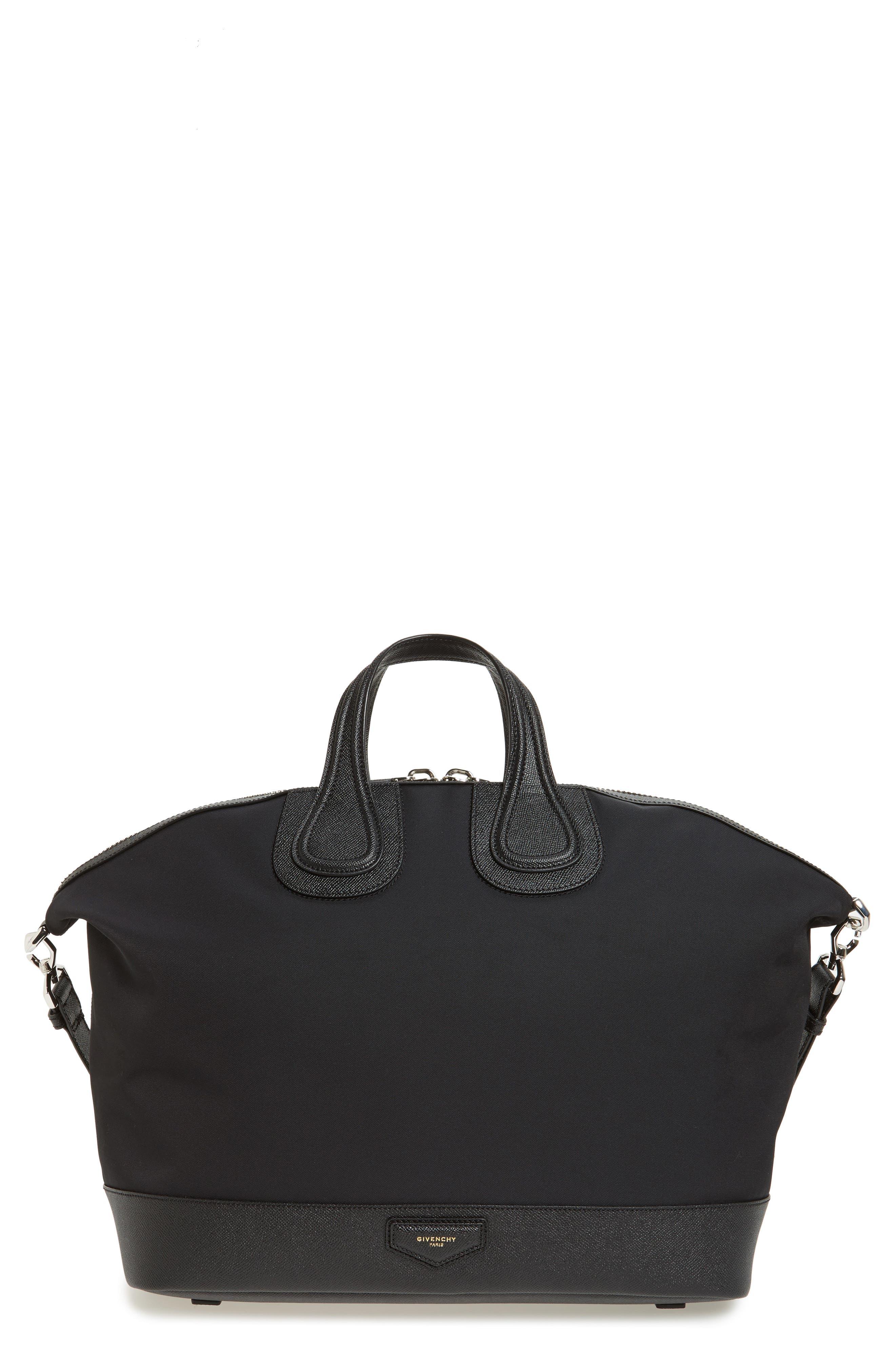 Nightingale Canvas Bag,                         Main,                         color, Black