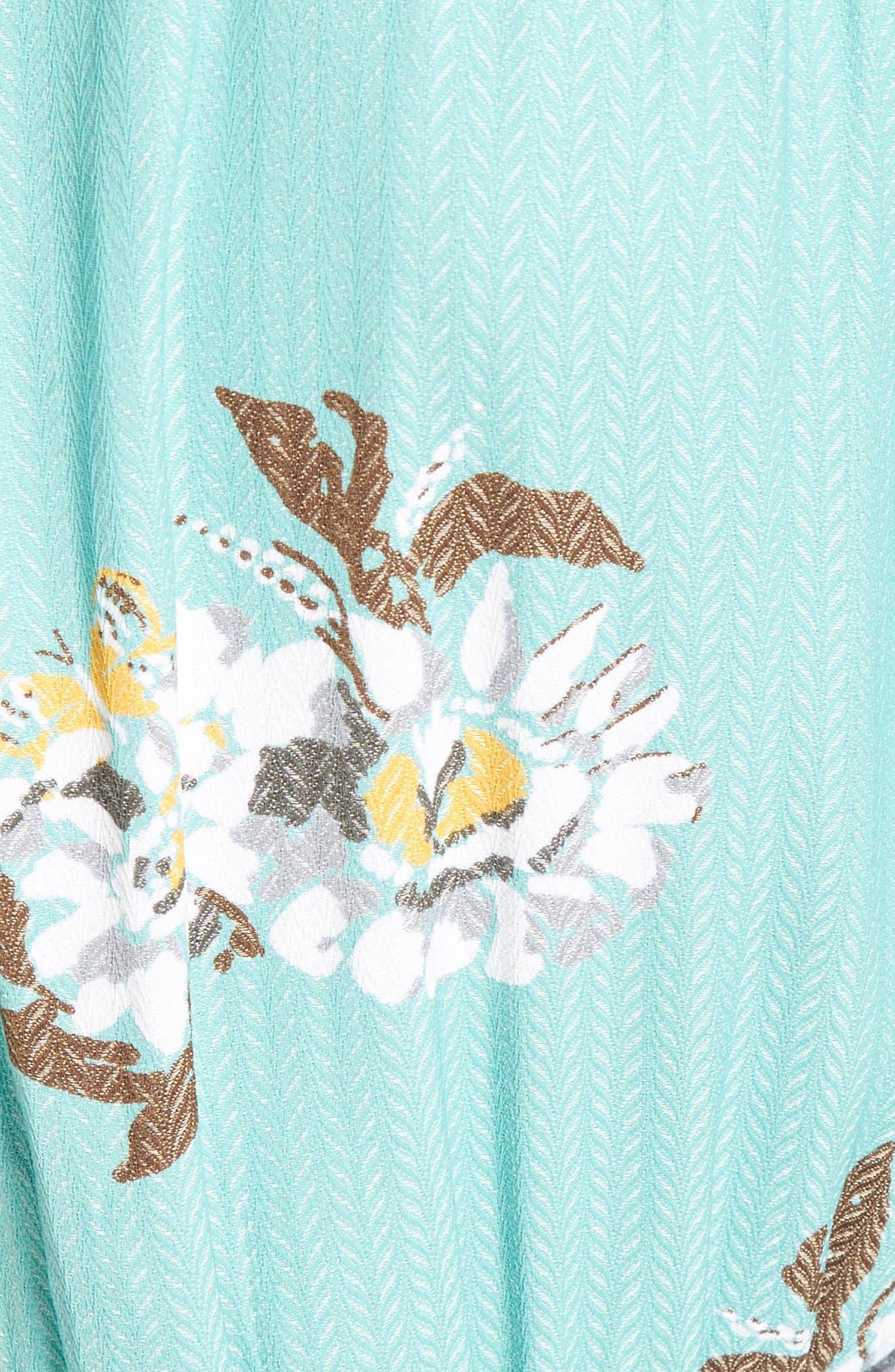 All I Got Maxi Dress,                             Alternate thumbnail 5, color,                             Botanic Combo