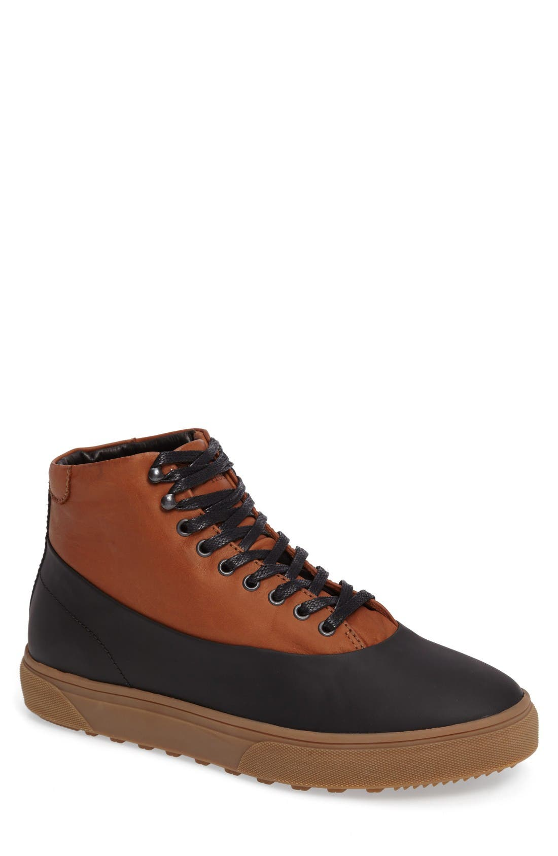 Alternate Image 1 Selected - Hood Rubber Wayland High Top Sneaker (Men)